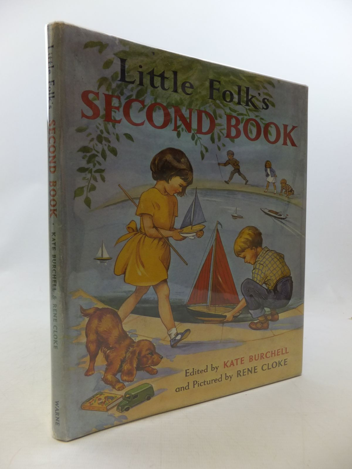Photo of LITTLE FOLK'S SECOND BOOK written by Burchell, Kate illustrated by Cloke, Rene published by Frederick Warne & Co Ltd. (STOCK CODE: 2114439)  for sale by Stella & Rose's Books
