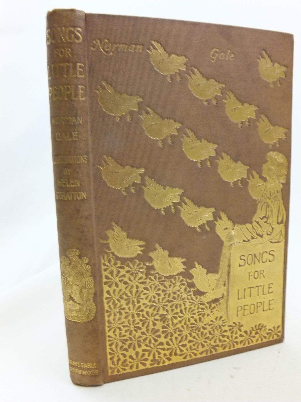 Photo of SONGS FOR LITTLE PEOPLE written by Gale, Norman illustrated by Stratton, Helen published by Archibald Constable & Company (STOCK CODE: 2114536)  for sale by Stella & Rose's Books
