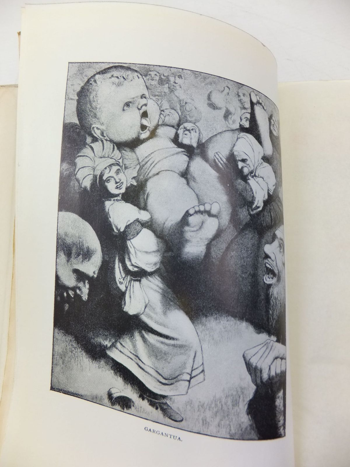 Photo of THE WORKS OF MR. FRANCIS RABELAIS written by Rabelais, Francois illustrated by Robinson, W. Heath published by The Navarre Society (STOCK CODE: 2114542)  for sale by Stella & Rose's Books