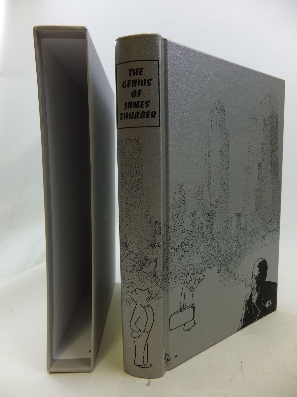 Photo of THE GENIUS OF JAMES THURBER written by Thurber, James<br />Rosen, Michael illustrated by Thurber, James published by Folio Society (STOCK CODE: 2114569)  for sale by Stella & Rose's Books