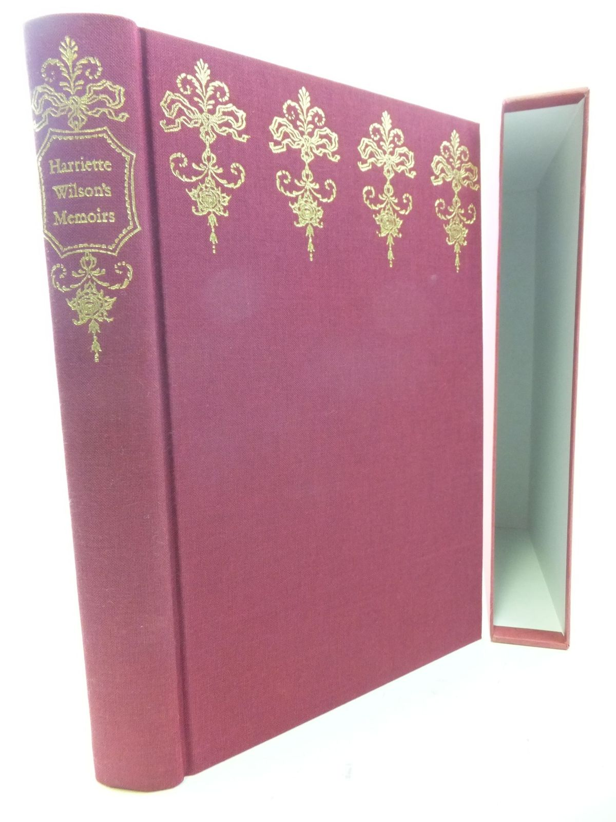 Photo of HARRIETTE WILSON'S MEMOIRS written by Wilson, Harriette<br />Blanch, Lesley published by Folio Society (STOCK CODE: 2114614)  for sale by Stella & Rose's Books
