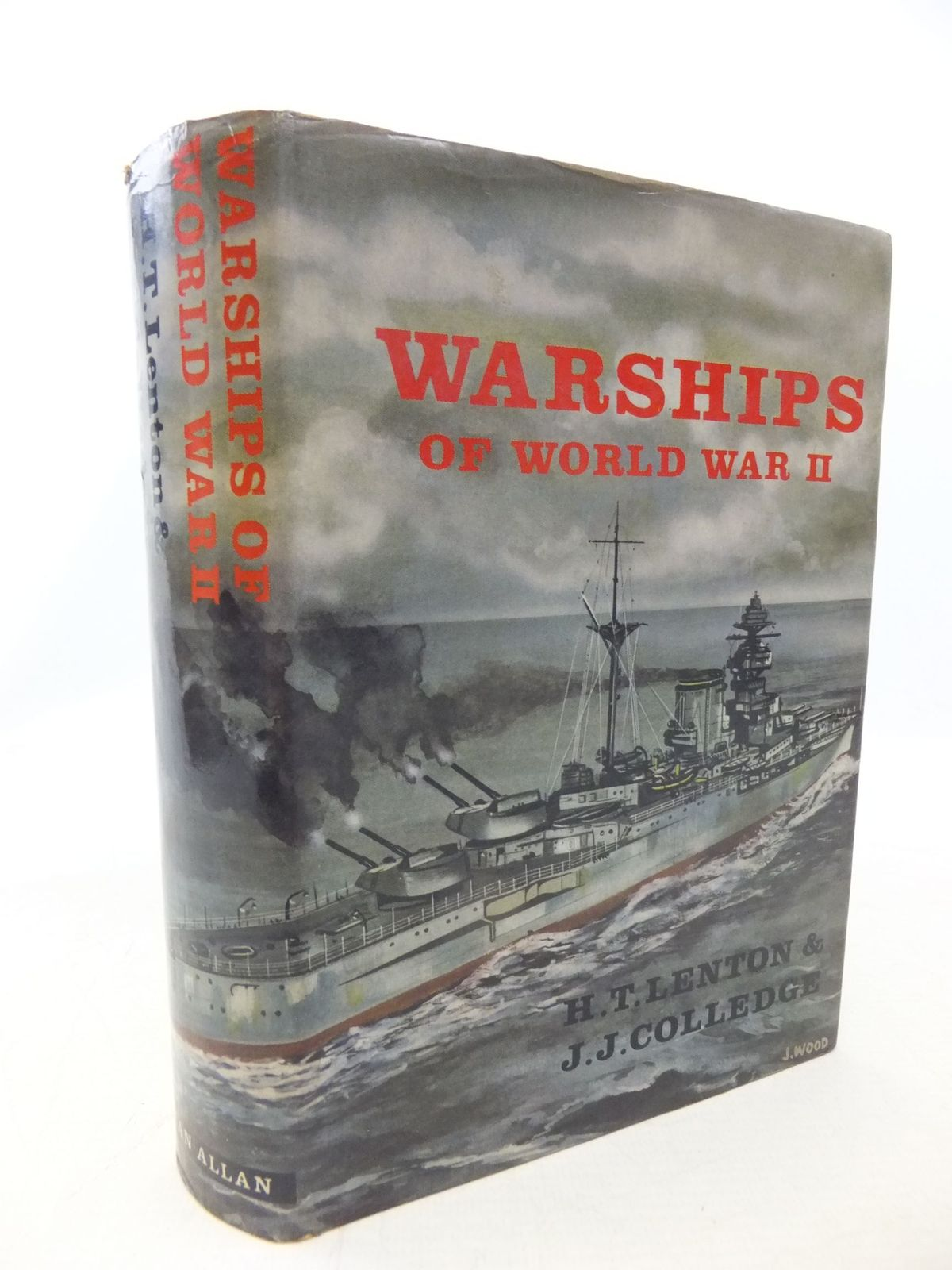 Photo of WARSHIPS OF WORLD WAR II written by Lenton, H.T.<br />Colledge, J.J. published by Ian Allan (STOCK CODE: 2114763)  for sale by Stella & Rose's Books