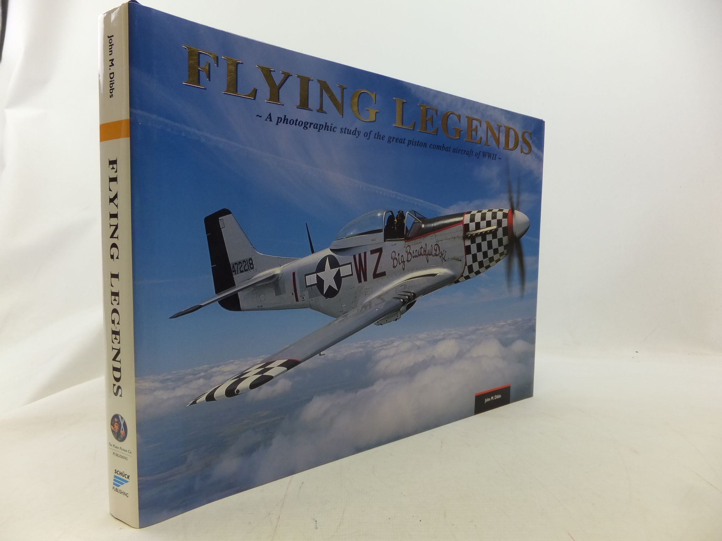 Photo of FLYING LEGENDS - A PHOTOGRAPHIC STUDY OF THE GREAT PISTON COMBAT AIRCRAFT OF WWII written by Holmes, Tony illustrated by Dibbs, John M. published by The Plane Picture Co. Publishing (STOCK CODE: 2114777)  for sale by Stella & Rose's Books