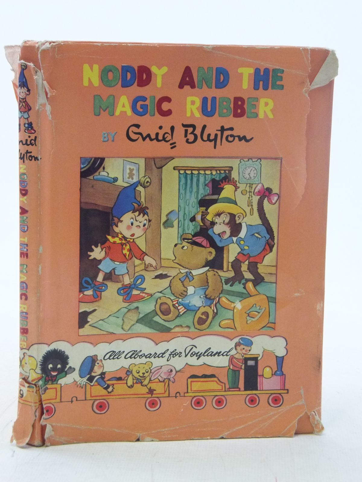 Photo of NODDY AND THE MAGIC RUBBER written by Blyton, Enid published by Sampson Low, Marston & Co. Ltd., Pleiades Books Ltd. (STOCK CODE: 2114835)  for sale by Stella & Rose's Books
