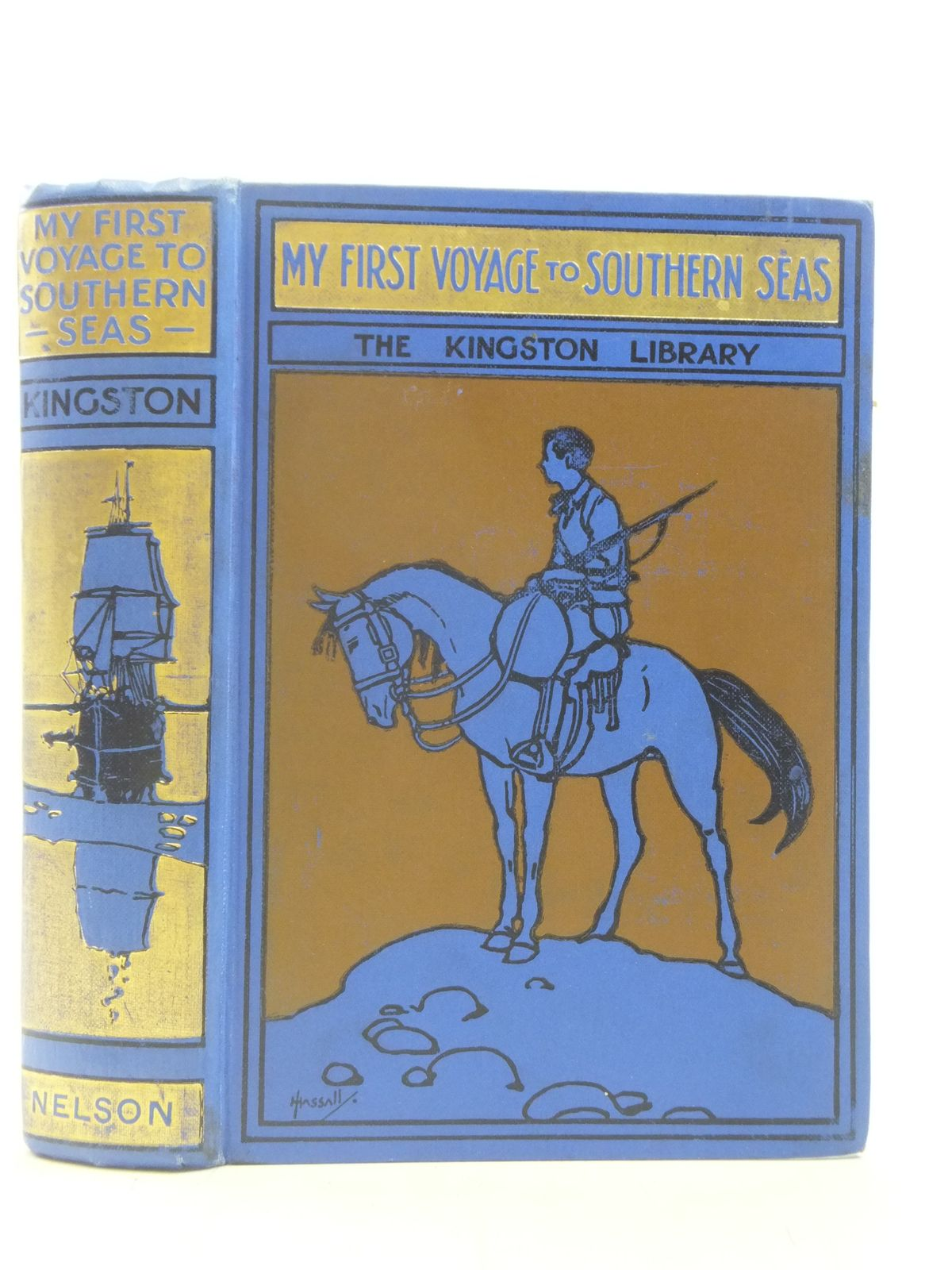 Photo of MY FIRST VOYAGE TO SOUTHERN SEAS written by Kingston, W.H.G. illustrated by Pearse, A. published by Thomas Nelson & Sons (STOCK CODE: 2114867)  for sale by Stella & Rose's Books