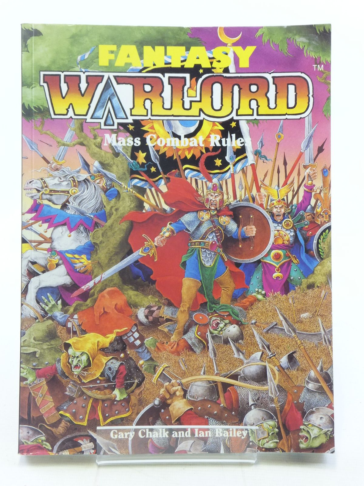 Photo of FANTASY WARLORD BOOK ONE written by Bailey, Ian<br />Chalk, Gary published by Folio Works Limited (STOCK CODE: 2114923)  for sale by Stella & Rose's Books