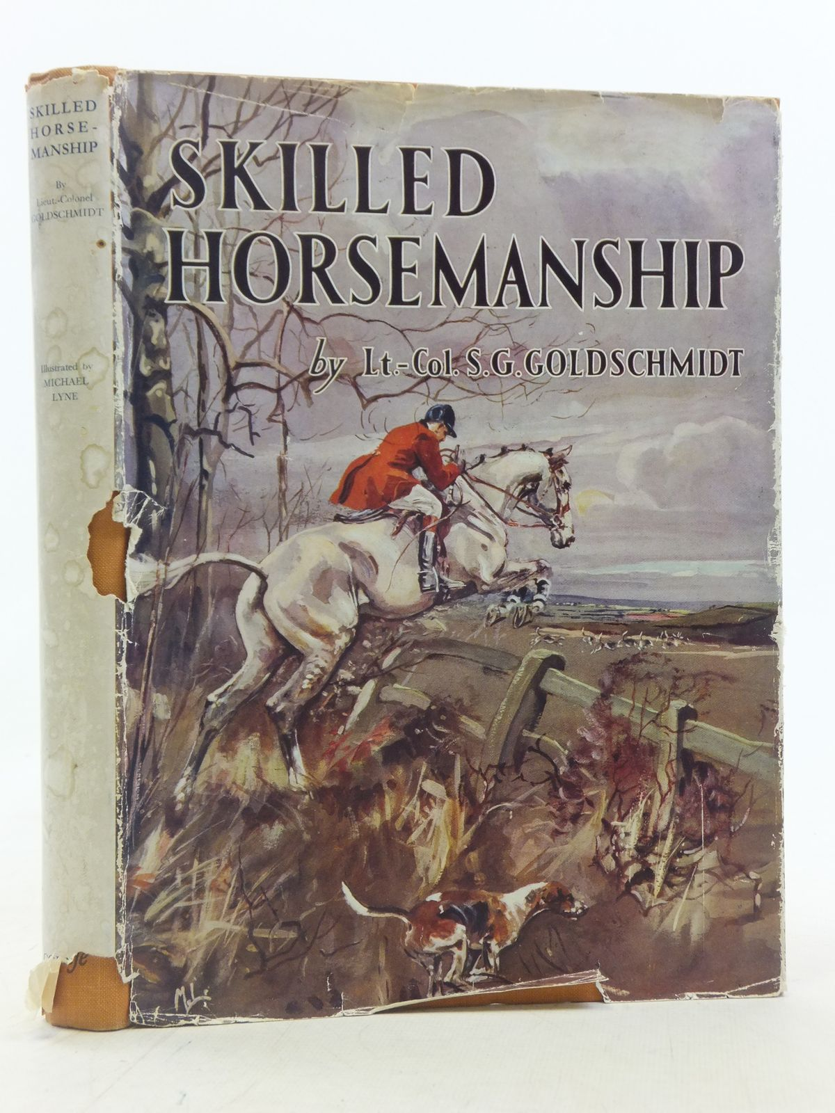 Photo of SKILLED HORSEMANSHIP written by Goldschmidt, Sidney G. illustrated by Lyne, Michael published by Country Life Limited (STOCK CODE: 2114929)  for sale by Stella & Rose's Books