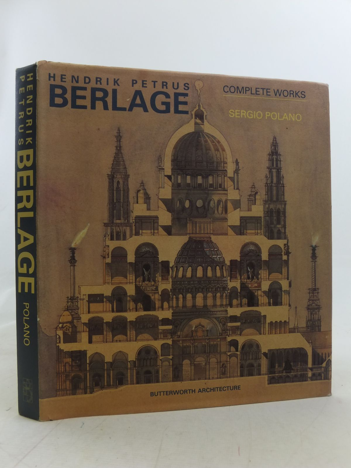 Photo of HENDRIK PETRUS BERLAGE COMPLETE WORKS written by Polano, Sergio<br />Fanelli, Giovanni<br />De Heer, Jan<br />Van Rossem, Vincent published by Butterworth Architecture (STOCK CODE: 2114976)  for sale by Stella & Rose's Books