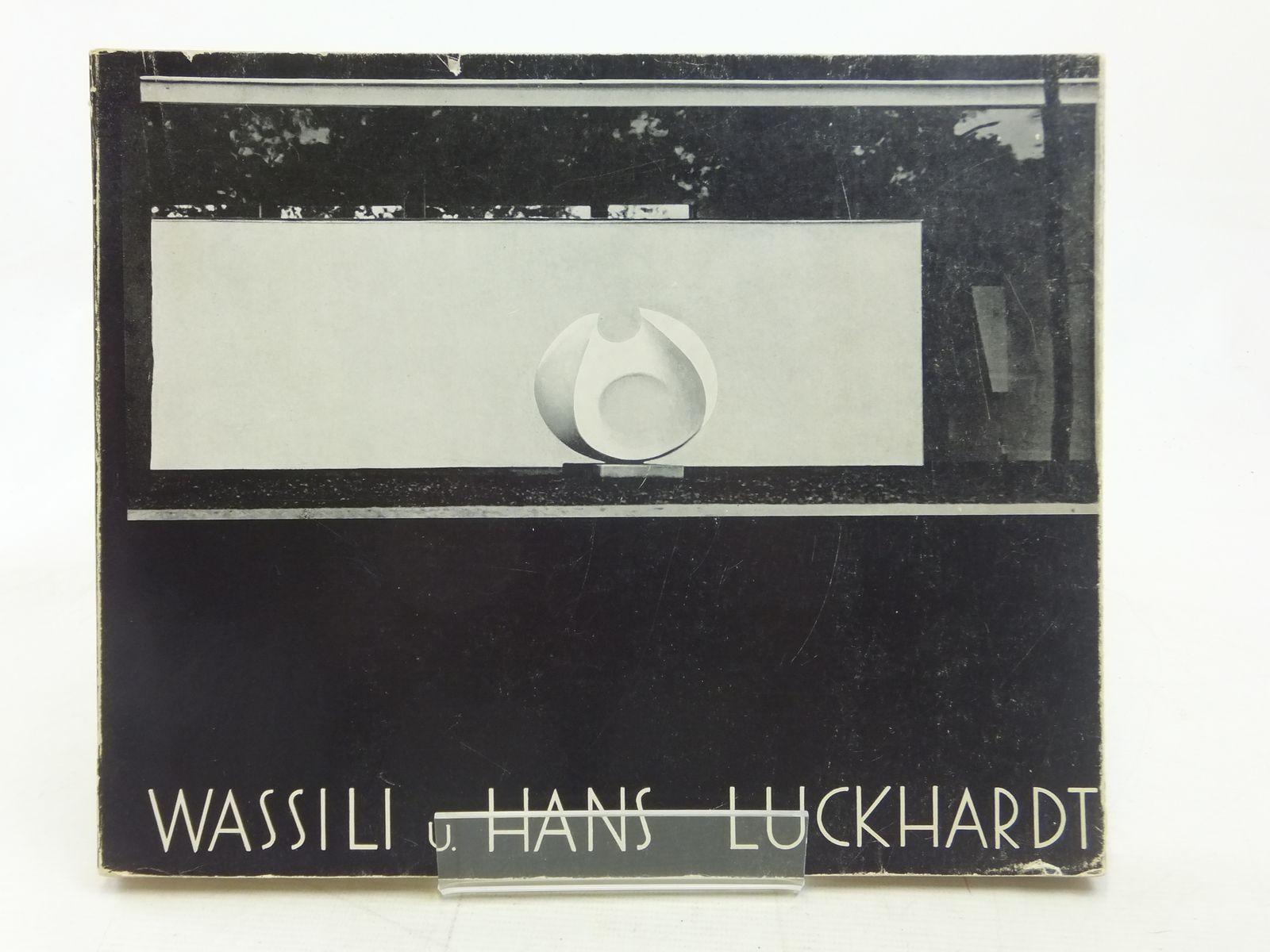 Photo of WASSILI UND HANS LUCKHARDT BAUTEN UND ENTWURFE written by Kultermann, Udo published by Ernst Wasmuth (STOCK CODE: 2114991)  for sale by Stella & Rose's Books