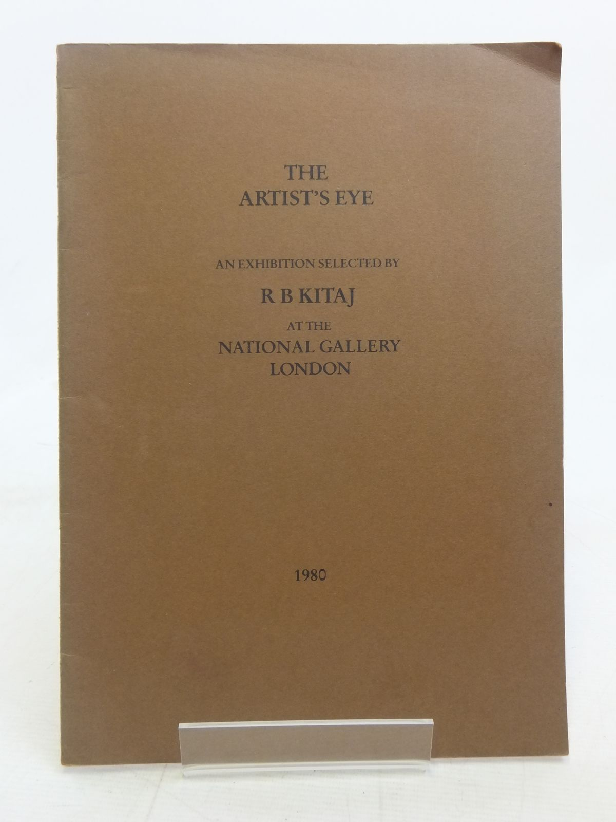 Photo of THE ARTIST'S EYE published by National Gallery (STOCK CODE: 2115007)  for sale by Stella & Rose's Books