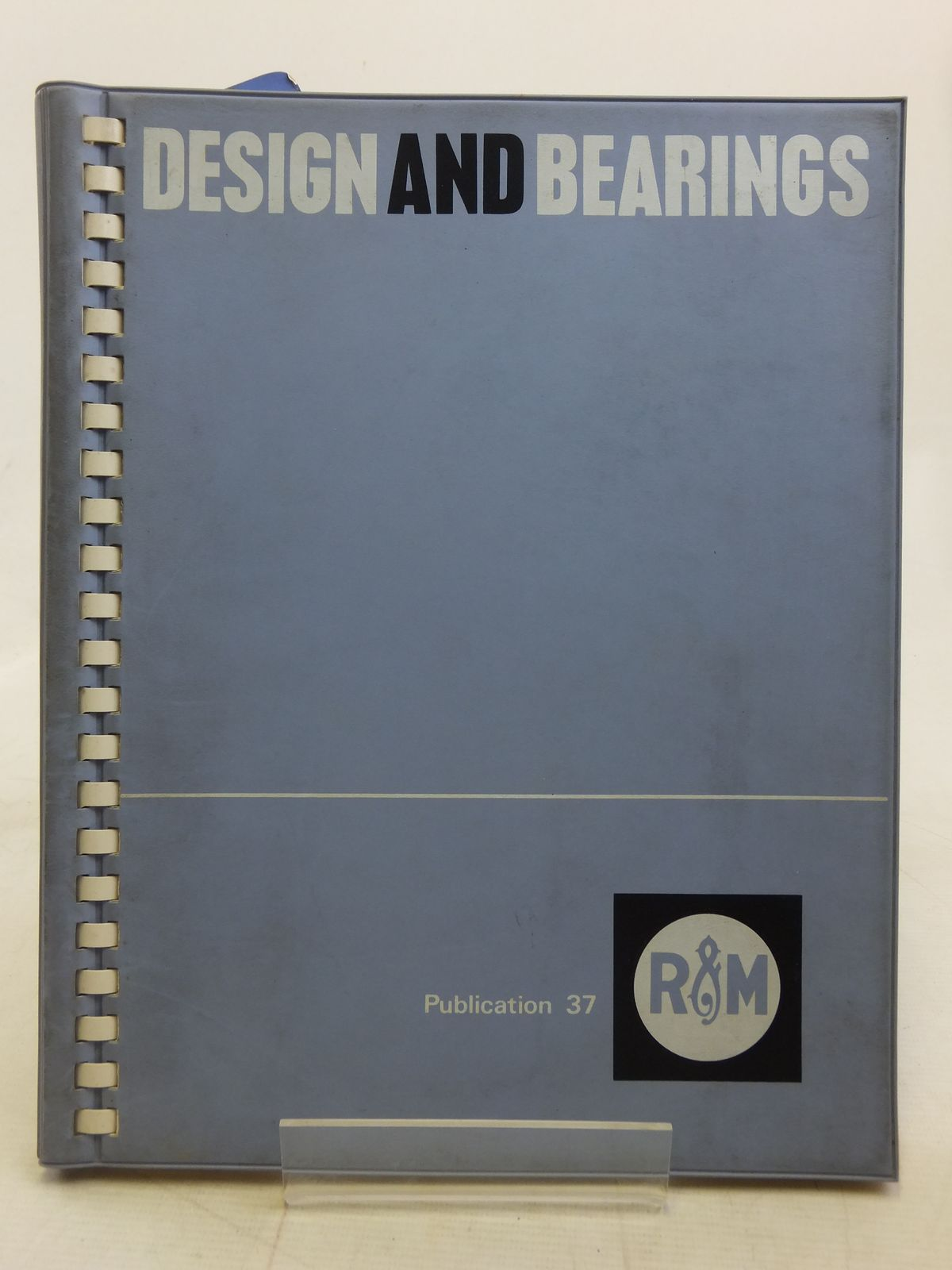 Photo of DESIGN AND BEARINGS PUBLICATION 37 ISSUE 5 published by Ransome & Marles Bearing Company Limited (STOCK CODE: 2115008)  for sale by Stella & Rose's Books