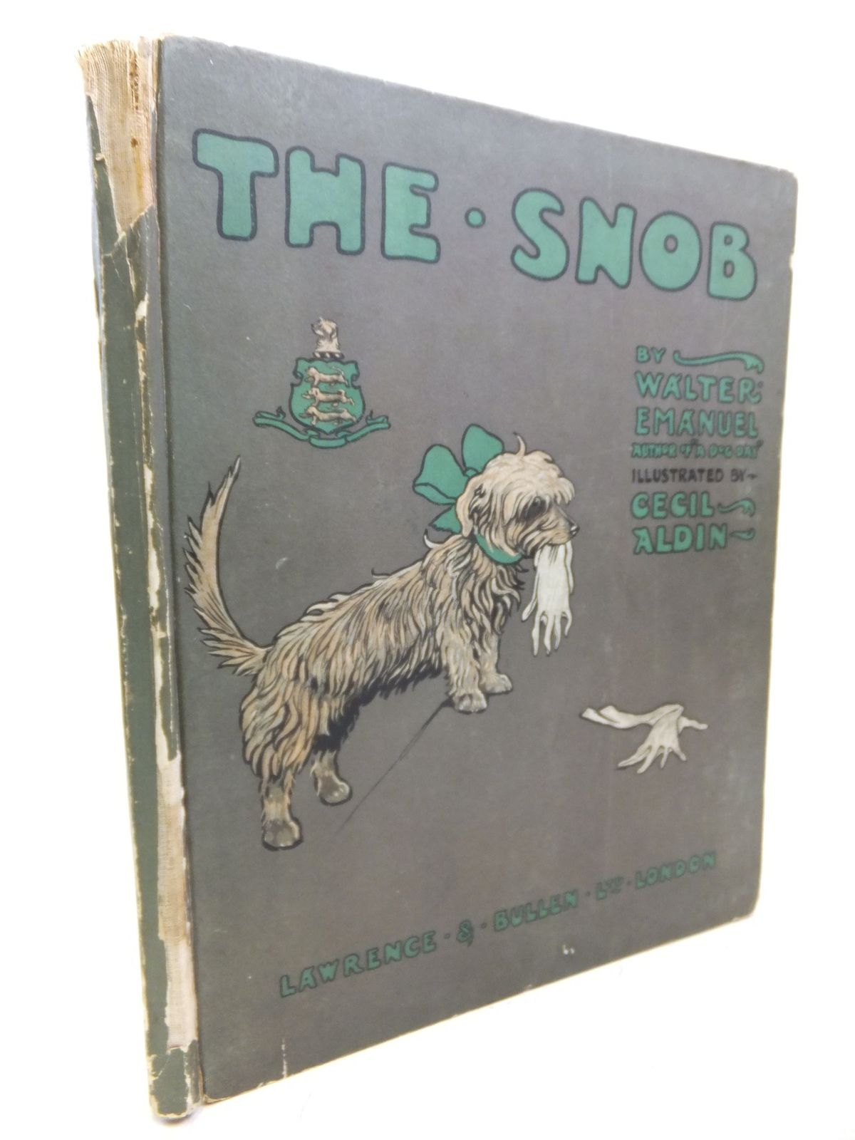 Photo of THE SNOB written by Emanuel, Walter illustrated by Aldin, Cecil published by Laurence and Bullen (STOCK CODE: 2115151)  for sale by Stella & Rose's Books