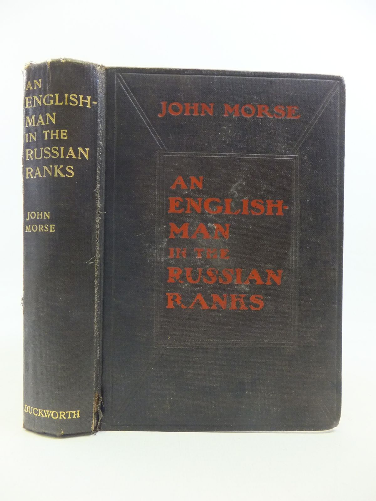 Photo of AN ENGLISHMAN IN THE RUSSIAN RANKS written by Morse, John published by Duckworth & Co. (STOCK CODE: 2115529)  for sale by Stella & Rose's Books