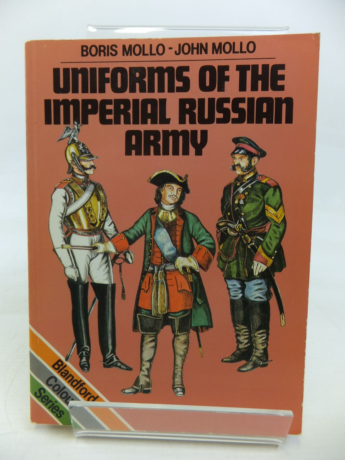 Photo of UNIFORMS OF THE IMPERIAL RUSSIAN ARMY written by Mollo, Boris illustrated by Mollo, John published by Blandford Press (STOCK CODE: 2115594)  for sale by Stella & Rose's Books