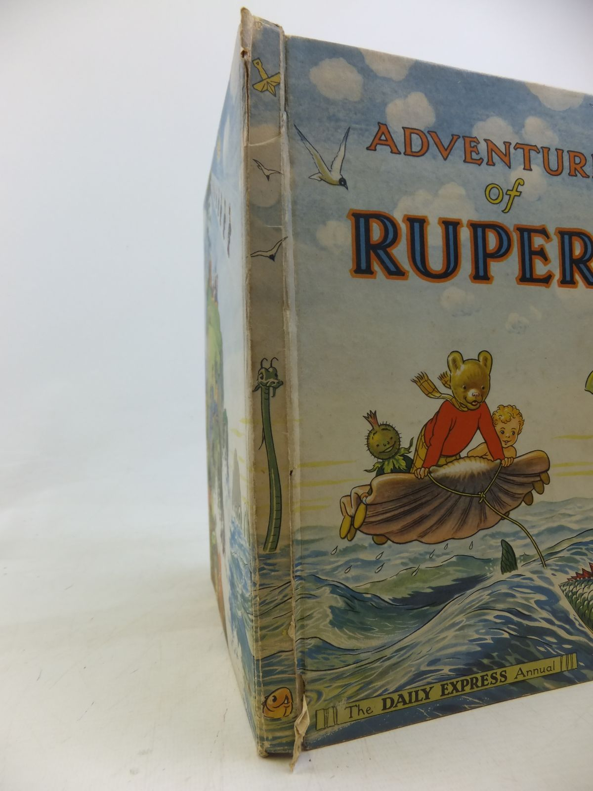 Photo of RUPERT ANNUAL 1950 - ADVENTURES OF RUPERT written by Bestall, Alfred illustrated by Bestall, Alfred published by Daily Express (STOCK CODE: 2115749)  for sale by Stella & Rose's Books