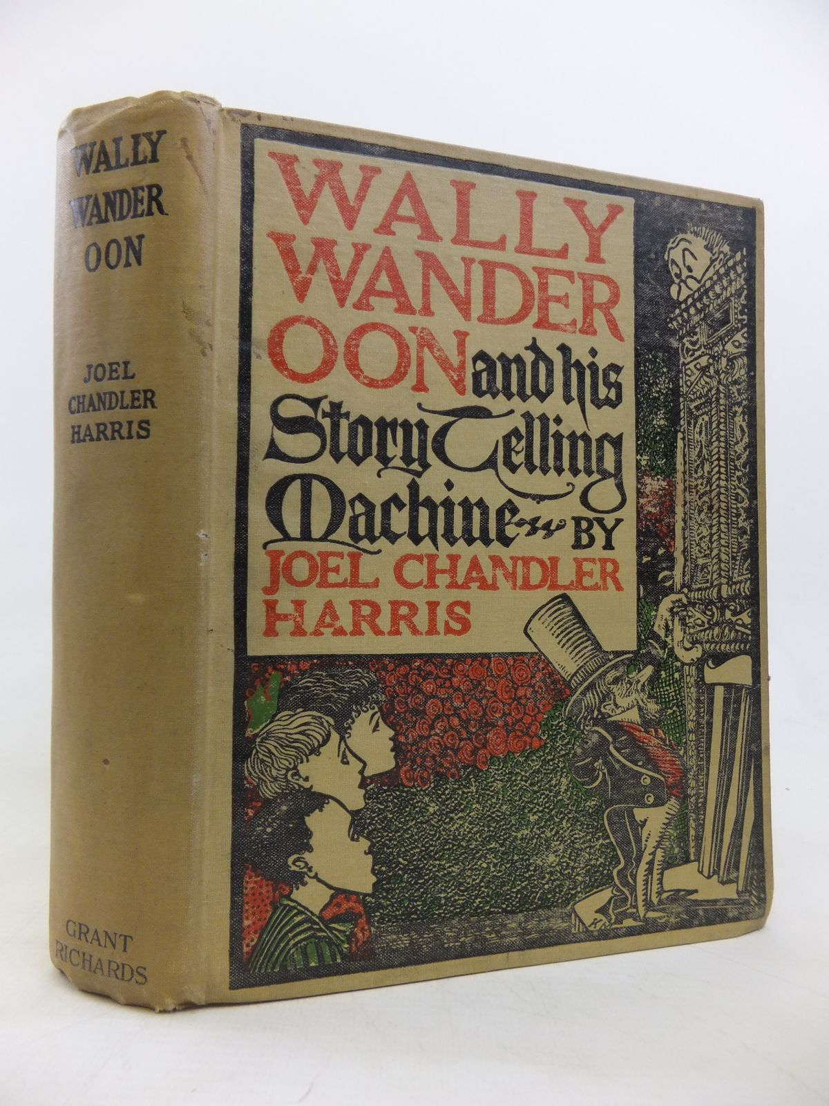 Photo of WALLY WANDEROON AND HIS STORYTELLING MACHINE written by Harris, Joel Chandler illustrated by Moseley, Karl published by Grant Richards (STOCK CODE: 2115758)  for sale by Stella & Rose's Books