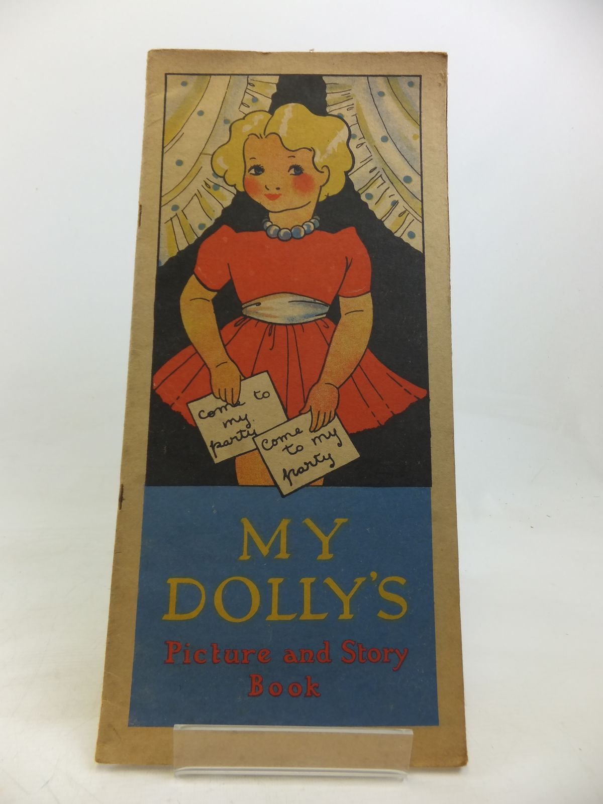 Photo of MY DOLLY'S PICTURE AND STORY BOOK published by Bairns Books Ltd. (STOCK CODE: 2115763)  for sale by Stella & Rose's Books