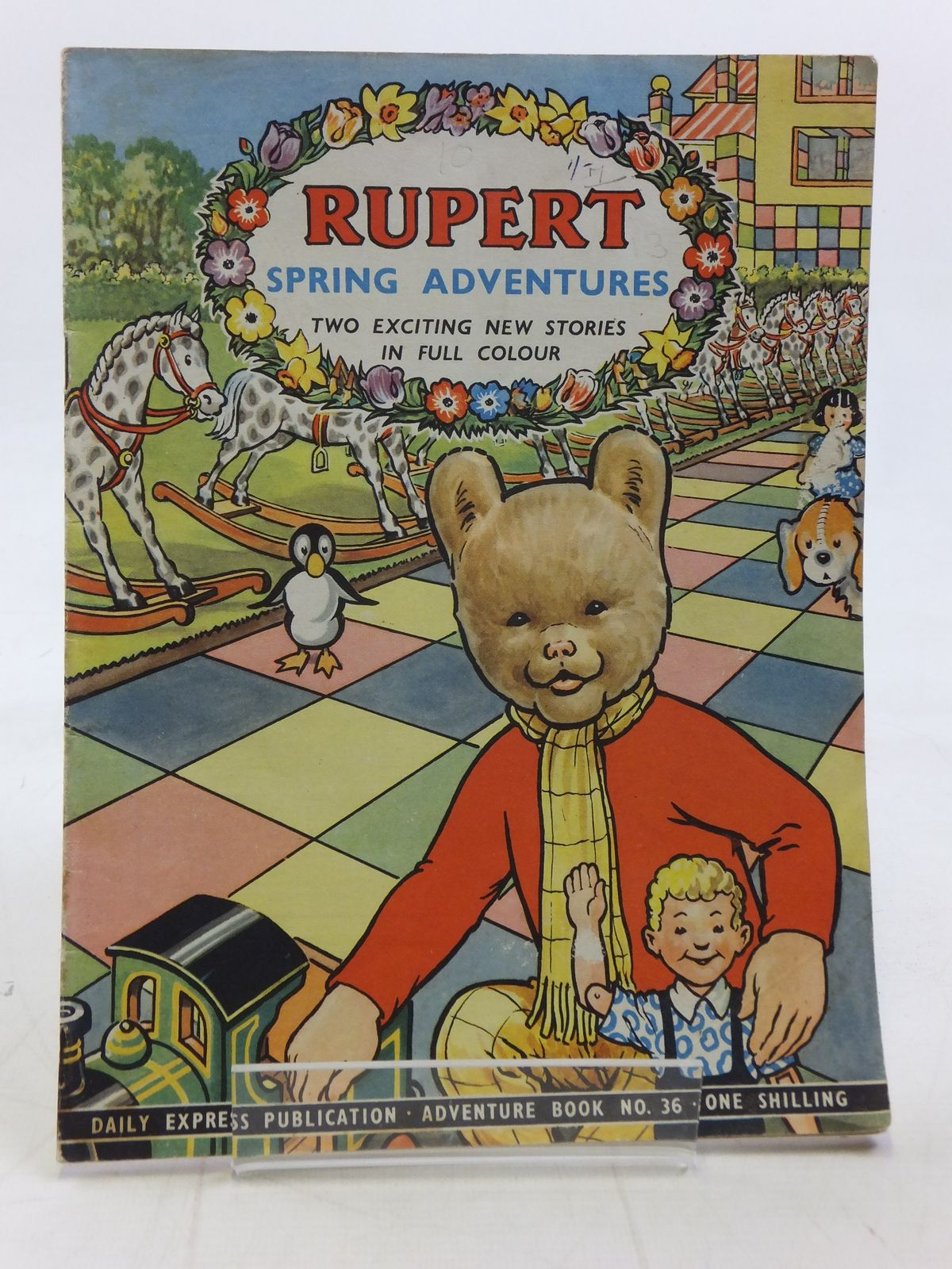 Photo of RUPERT ADVENTURE BOOK No. 36 - SPRING ADVENTURES written by Bestall, Alfred published by Daily Express (STOCK CODE: 2115839)  for sale by Stella & Rose's Books