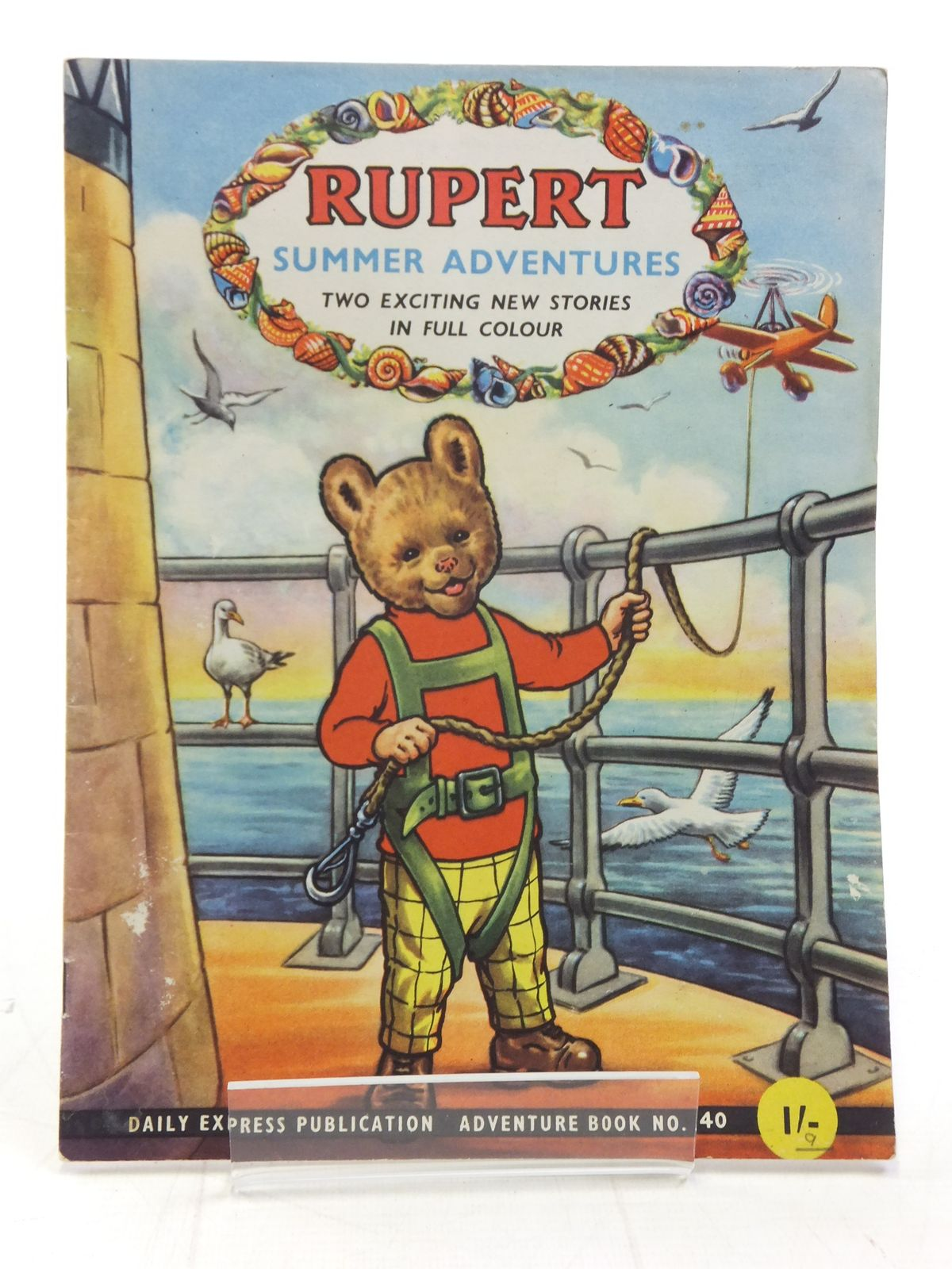 Photo of RUPERT ADVENTURE BOOK No. 40 - SUMMER ADVENTURES written by Bestall, Alfred published by Daily Express, Oldbourne Book Co. Ltd. (STOCK CODE: 2115840)  for sale by Stella & Rose's Books
