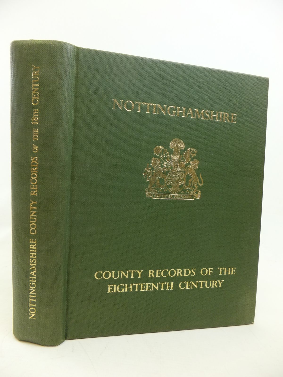Photo of NOTTINGHAMSHIRE EXTRACTS FROM THE COUNTY RECORDS OF THE EIGHTEENTH CENTURY written by Meaby, K. Tweedale published by Thos. Forman & Sons Ltd. (STOCK CODE: 2115888)  for sale by Stella & Rose's Books