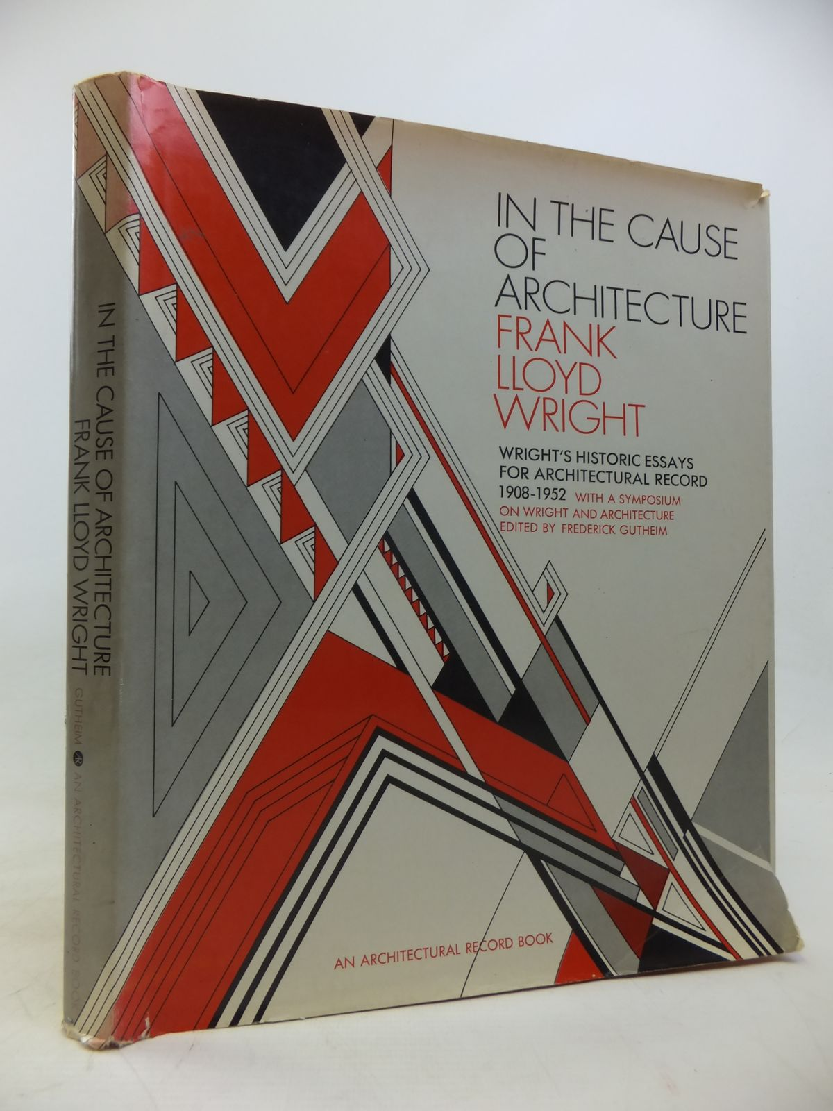 in the cause of architecture written by wright frank lloyd stock  photo of in the cause of architecture written by wright frank lloyd published by architectural