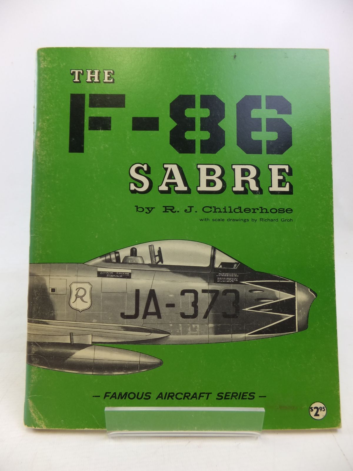 Photo of THE F-86 SABRE written by Childerhose, R.J. published by Arco Publishing (STOCK CODE: 2115905)  for sale by Stella & Rose's Books