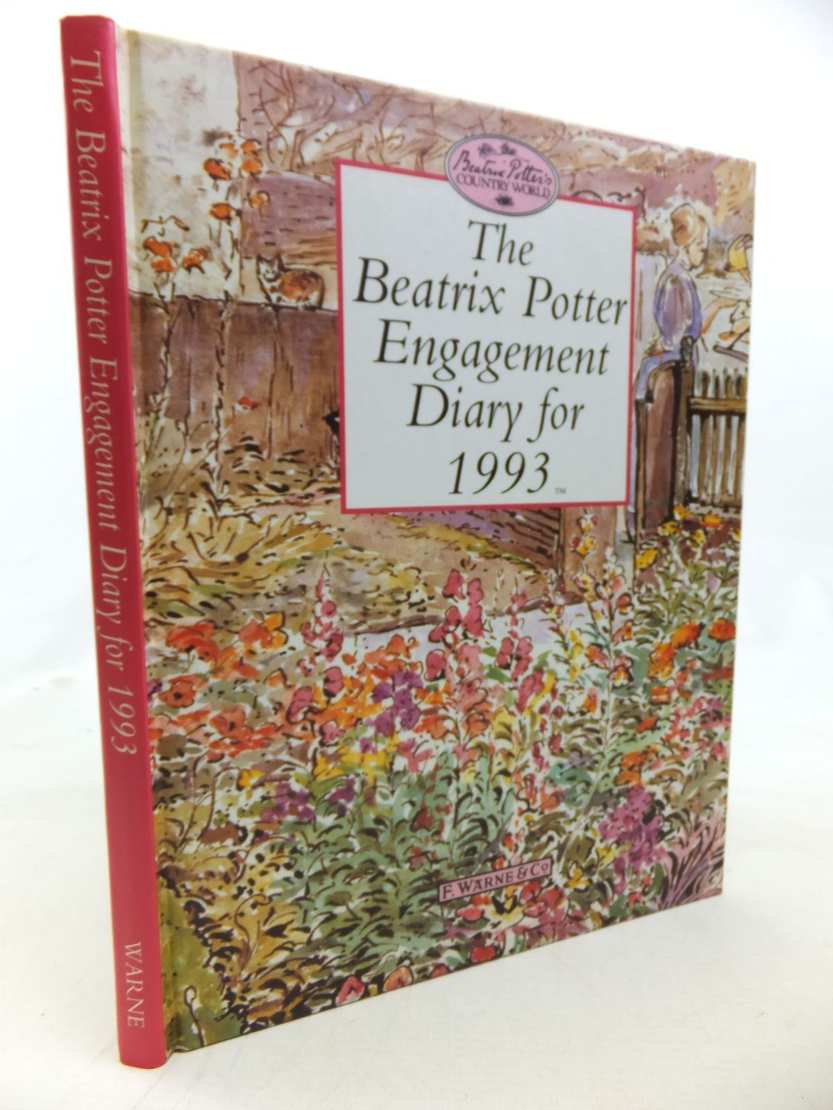 Photo of THE BEATRIX POTTER ENGAGEMENT DIARY FOR 1993 written by Potter, Beatrix illustrated by Potter, Beatrix published by Frederick Warne (STOCK CODE: 2115982)  for sale by Stella & Rose's Books