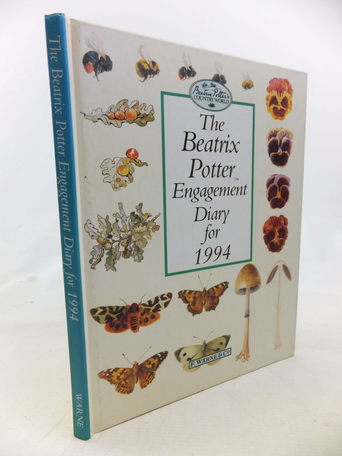 Photo of THE BEATRIX POTTER ENGAGEMENT DIARY FOR 1994 written by Potter, Beatrix illustrated by Potter, Beatrix published by Frederick Warne (STOCK CODE: 2115983)  for sale by Stella & Rose's Books