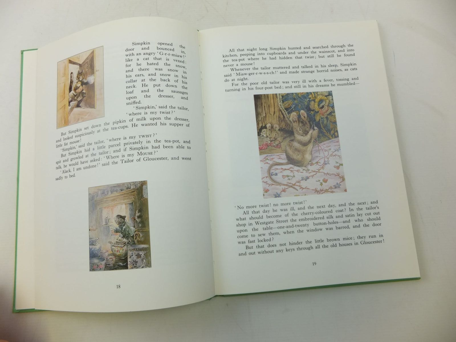 Photo of THE BEATRIX POTTER TREASURY written by Potter, Beatrix illustrated by Potter, Beatrix published by St Michael (STOCK CODE: 2115993)  for sale by Stella & Rose's Books