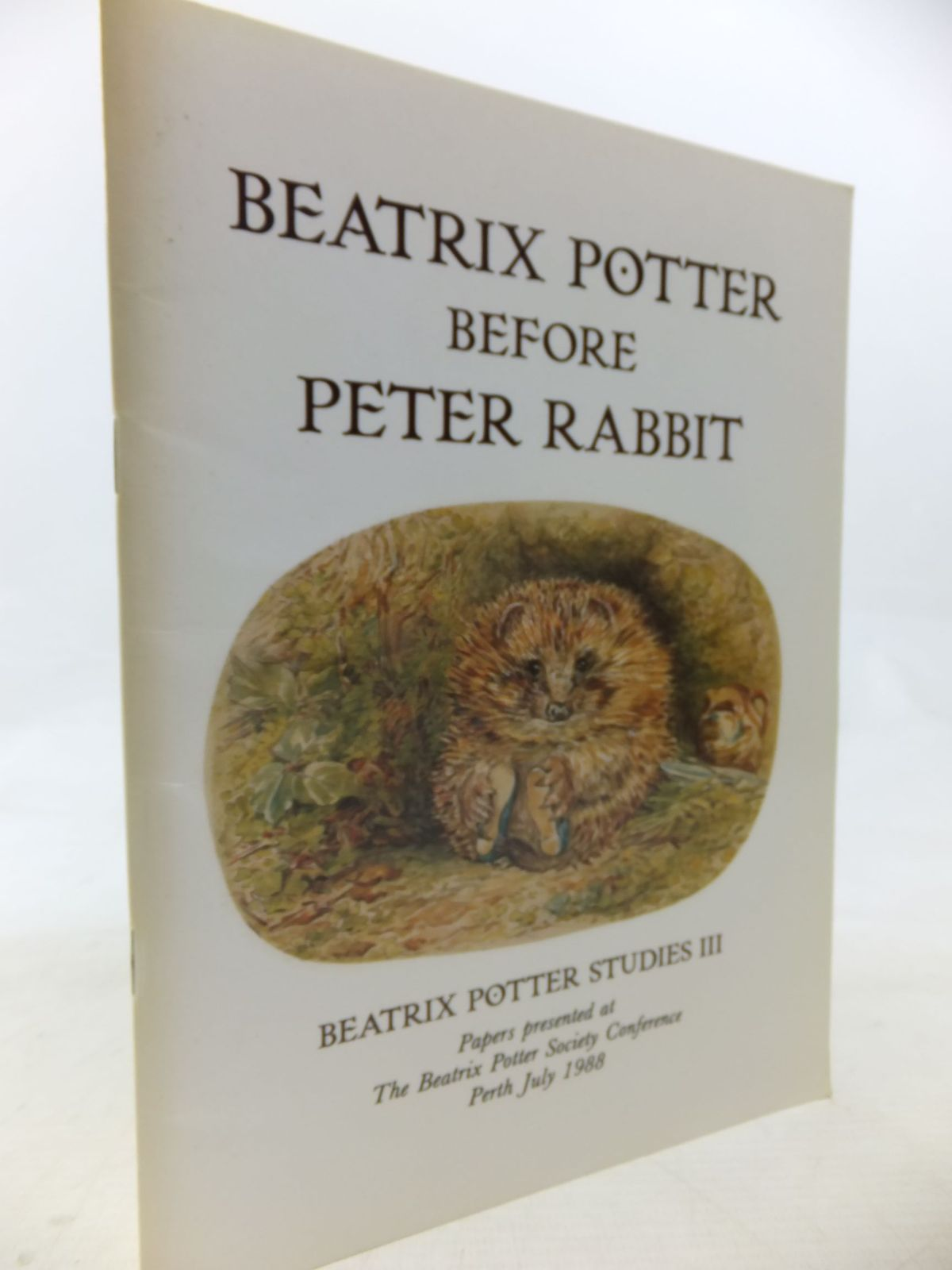 Photo of BEATRIX POTTER BEFORE PETER RABBIT written by Hanson-Smith, Christopher<br />McLean, Ruari<br />Taylor, Judy<br />et al, published by The Beatrix Potter Society (STOCK CODE: 2116005)  for sale by Stella & Rose's Books