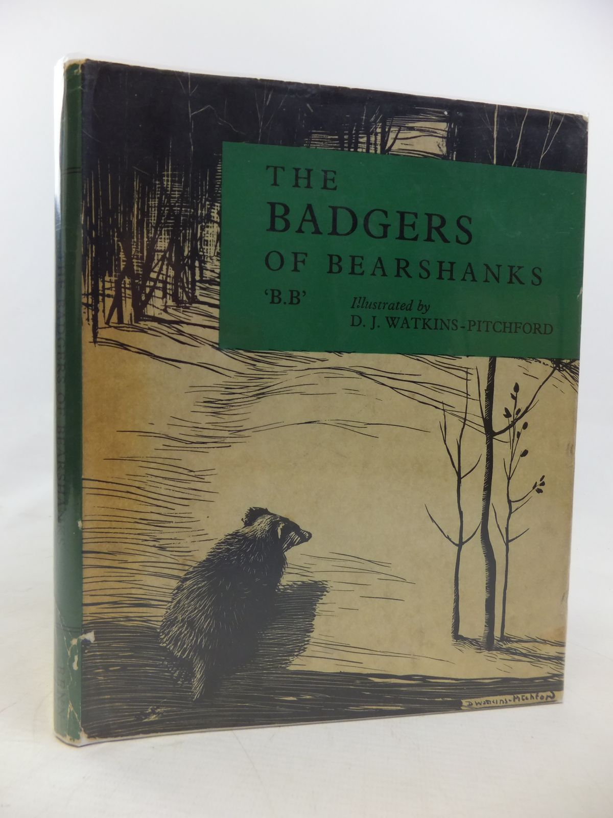 Photo of THE BADGERS OF BEARSHANKS written by BB,  illustrated by BB,  published by Ernest Benn Limited (STOCK CODE: 2116106)  for sale by Stella & Rose's Books