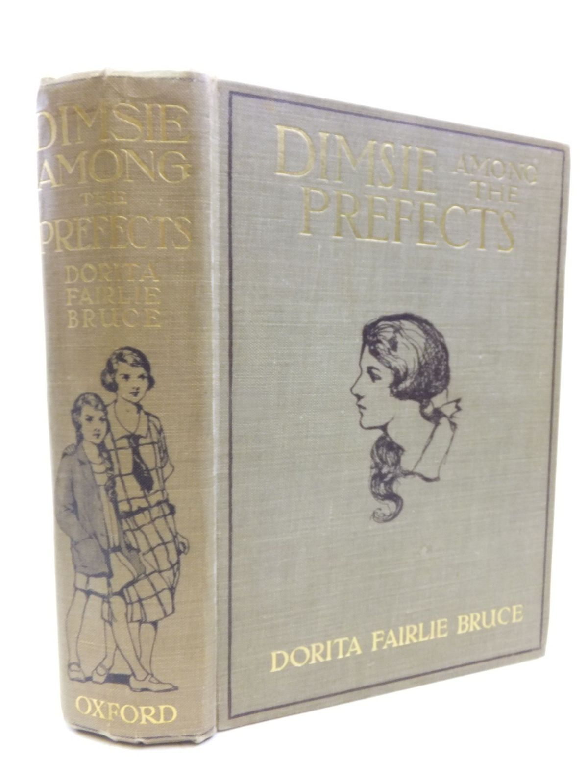 Photo of DIMSIE AMONG THE PREFECTS written by Bruce, Dorita Fairlie illustrated by Hammond, Gertrude Demain published by Humphrey Milford, Oxford University Press (STOCK CODE: 2116123)  for sale by Stella & Rose's Books