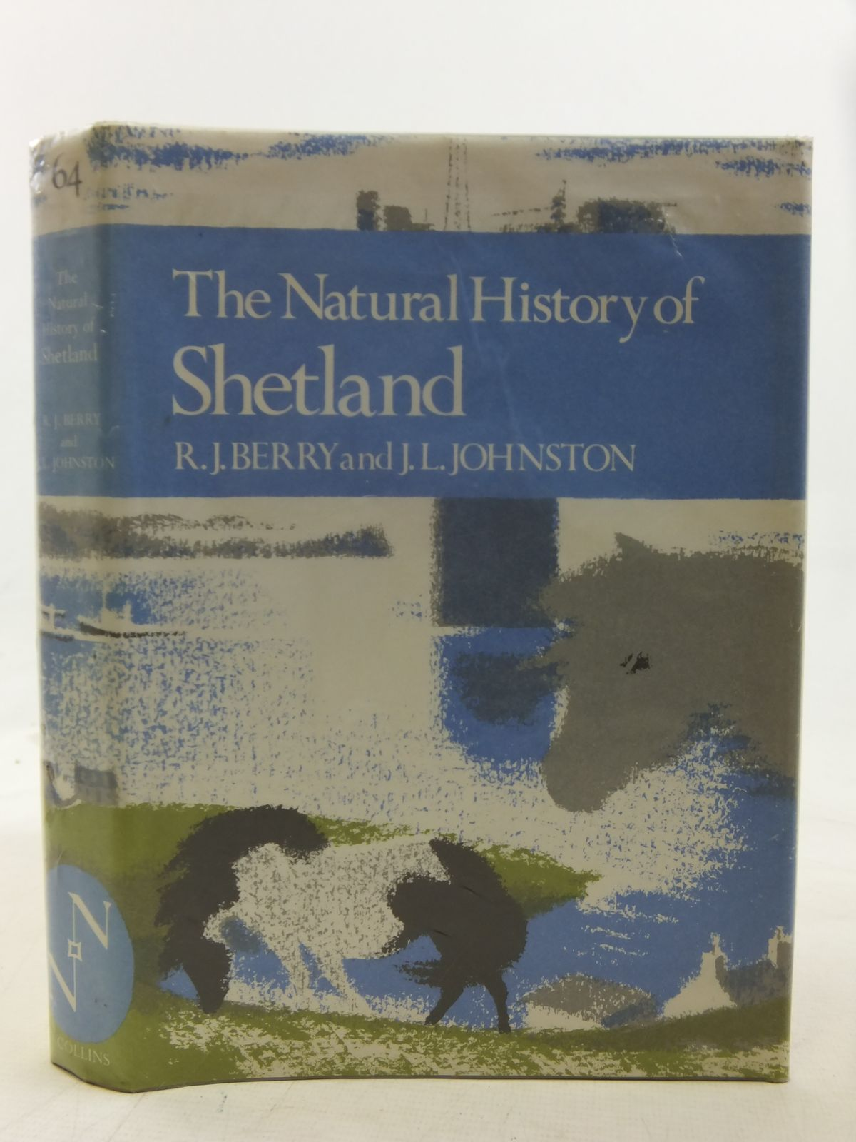 Photo of THE NATURAL HISTORY OF SHETLAND (NN 64) written by Berry, R.J.<br />Johnston, J.L. published by Collins (STOCK CODE: 2116228)  for sale by Stella & Rose's Books