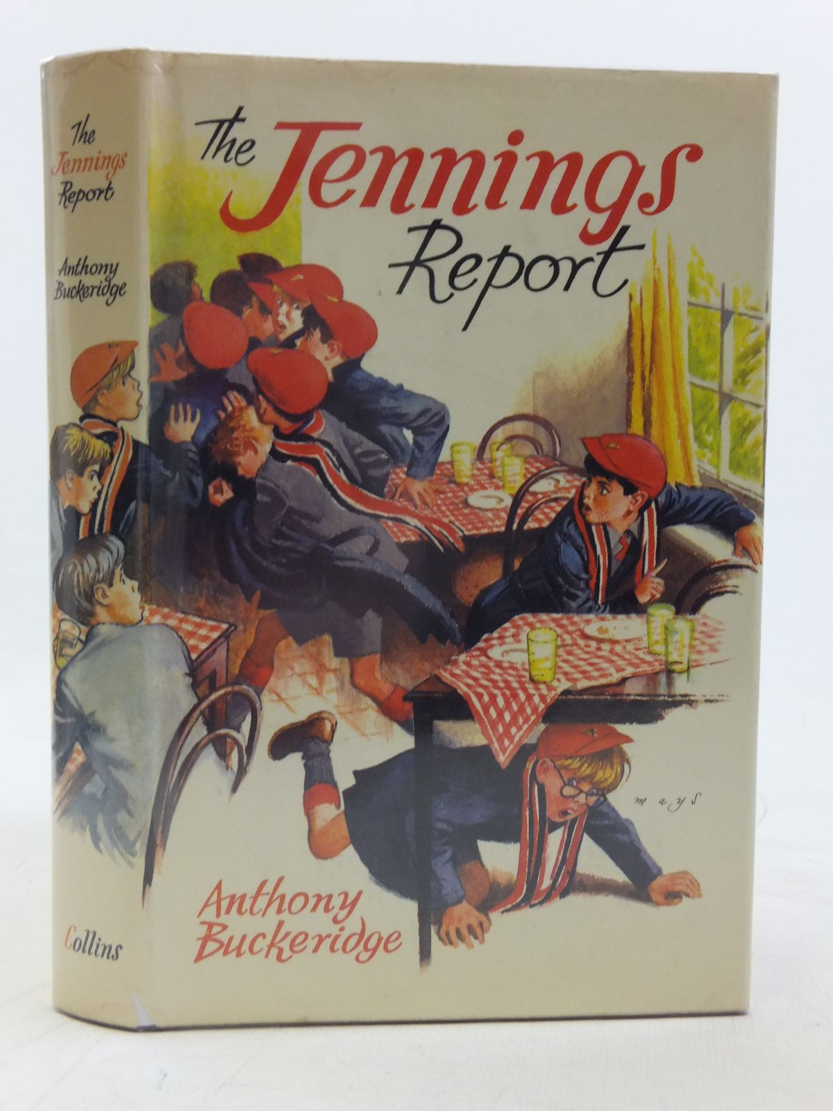 Photo of THE JENNINGS REPORT written by Buckeridge, Anthony illustrated by Mays,  published by Collins (STOCK CODE: 2116257)  for sale by Stella & Rose's Books