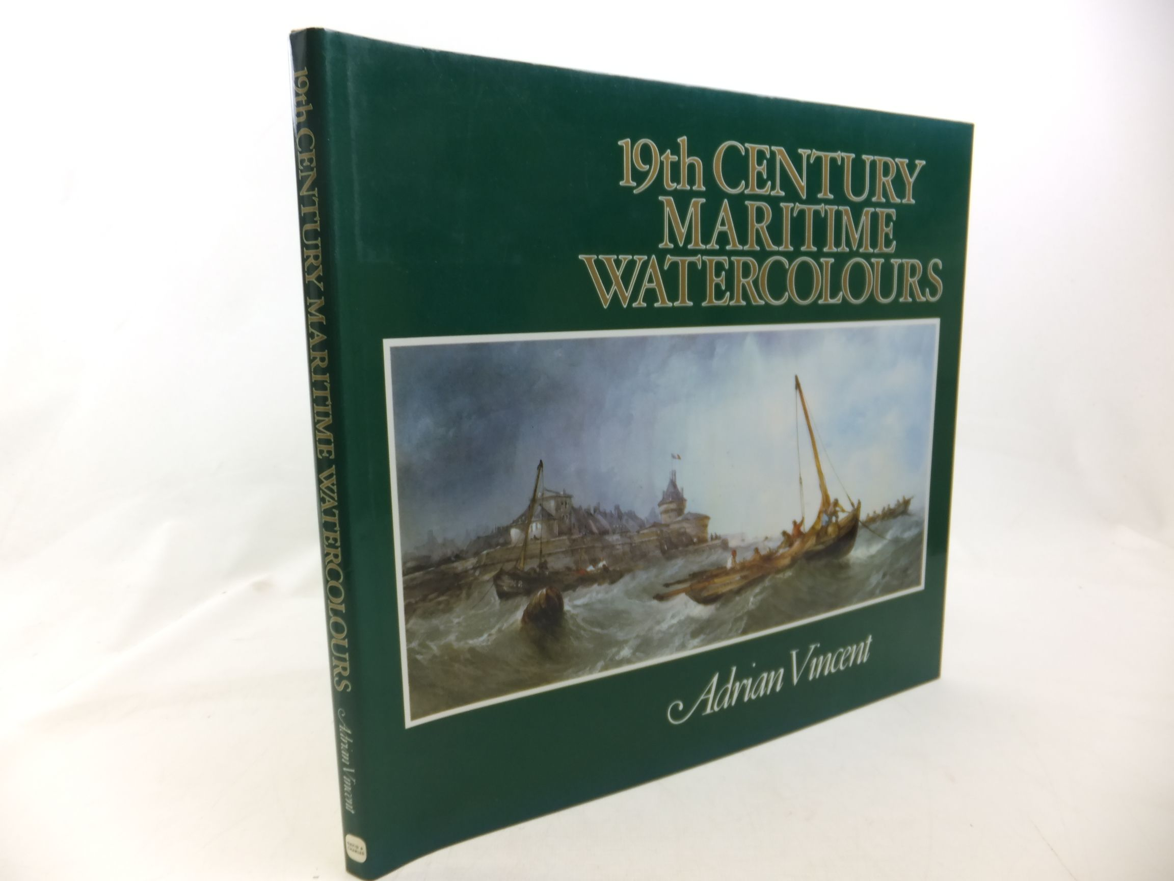Photo of 19TH CENTURY MARITIME WATERCOLOURS written by Vincent, Adrian published by David & Charles (STOCK CODE: 2116330)  for sale by Stella & Rose's Books