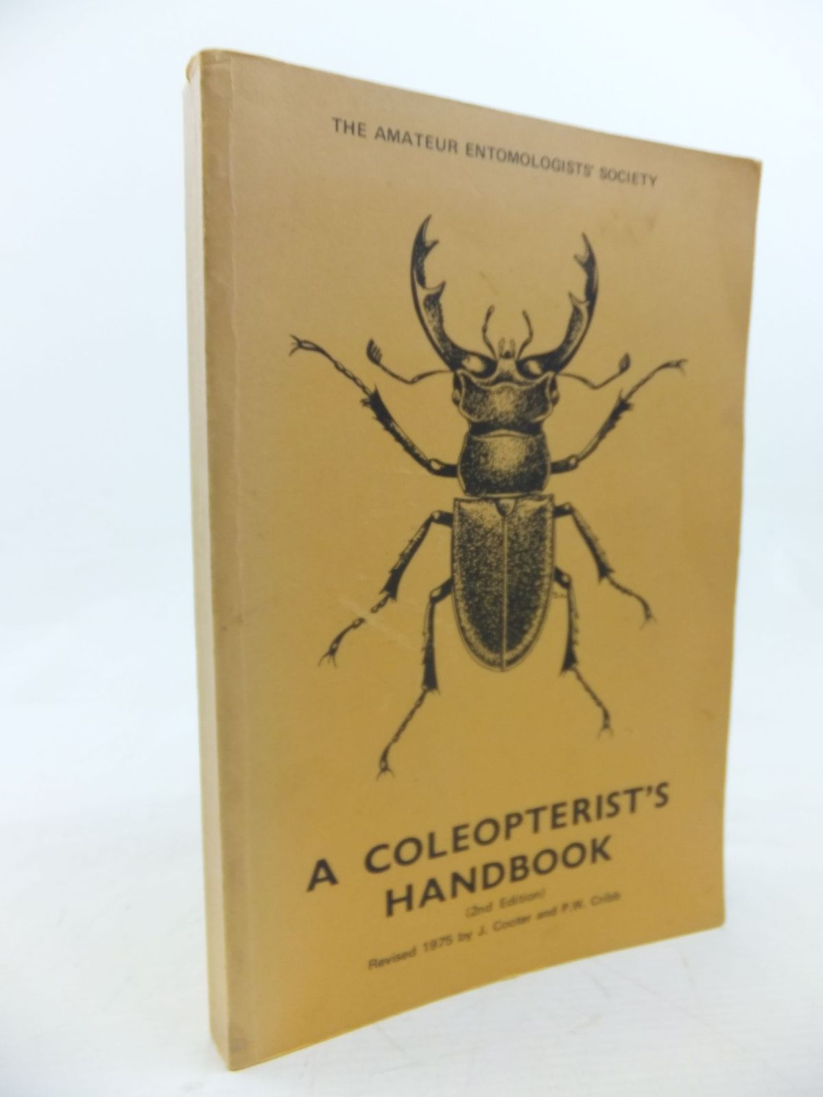 Photo of A COLEOPTERIST'S HANDBOOK written by Walsh, Geo. B.<br />Dibb, John R.<br />Cooter, J.<br />Cribb, P.W. published by Amateur Entomologist's Society (STOCK CODE: 2116339)  for sale by Stella & Rose's Books