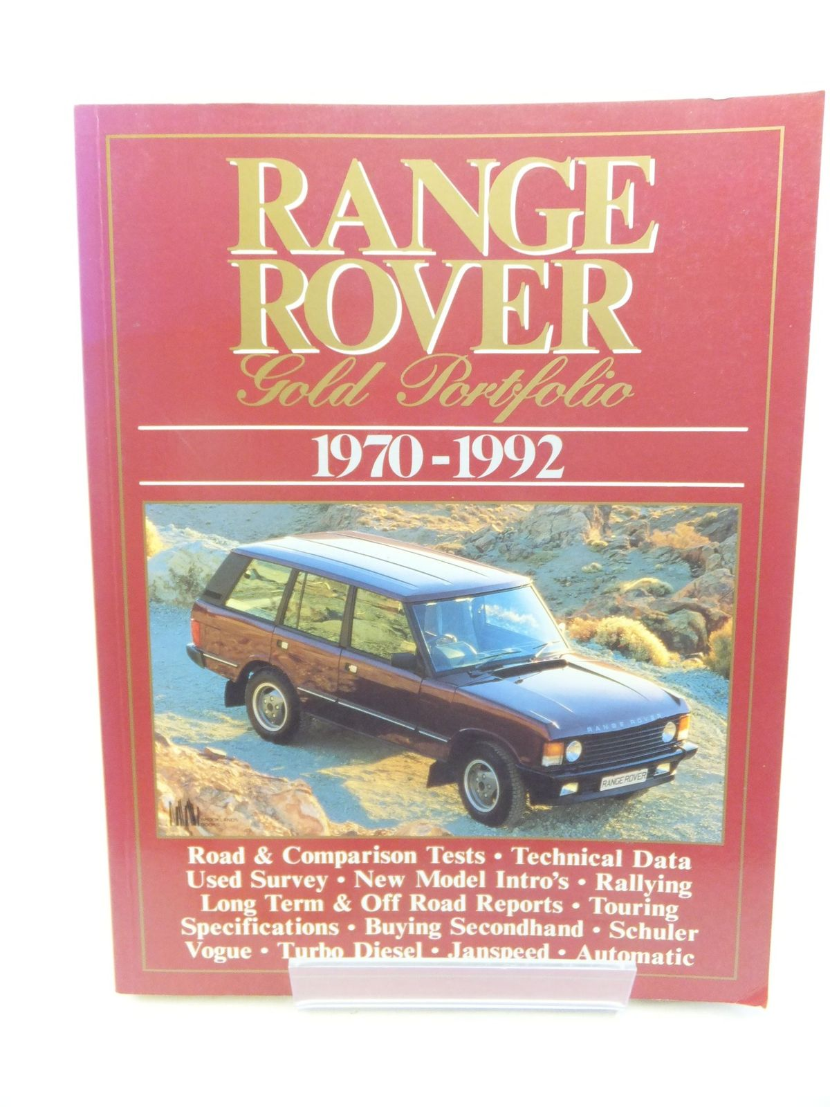 Photo of RANGE ROVER GOLD PORTFOLIO 1970-1992 written by Clarke, R.M. published by Brooklands Books (STOCK CODE: 2116365)  for sale by Stella & Rose's Books