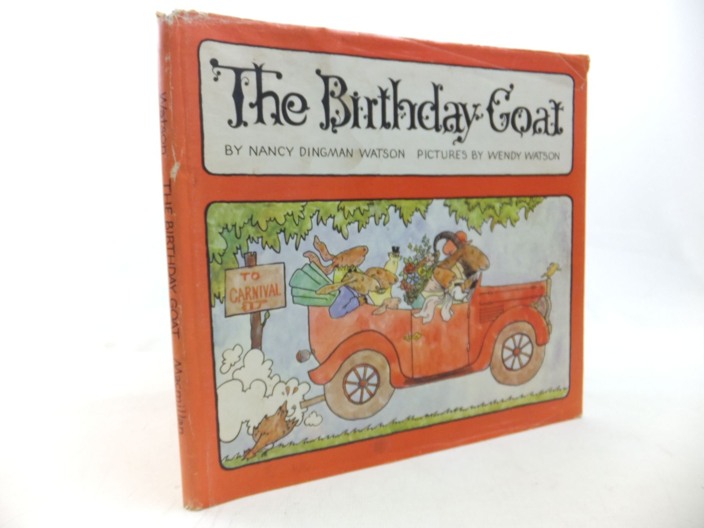 Photo of THE BIRTHDAY GOAT written by Watson, Nancy Dingman illustrated by Watson, Wendy published by MacMillan (STOCK CODE: 2116377)  for sale by Stella & Rose's Books