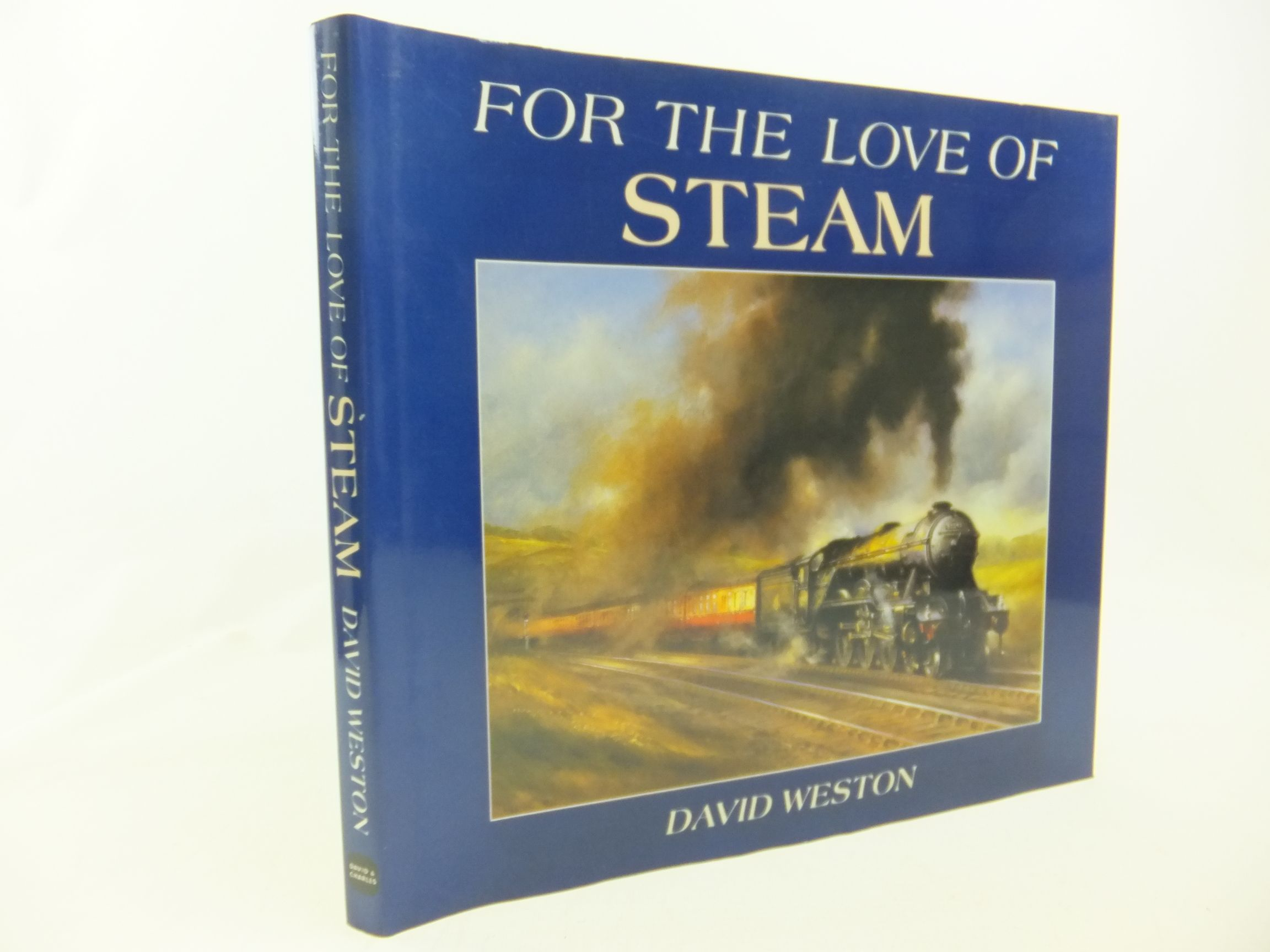 Photo of FOR THE LOVE OF STEAM written by Weston, David illustrated by Weston, David published by David & Charles (STOCK CODE: 2116381)  for sale by Stella & Rose's Books