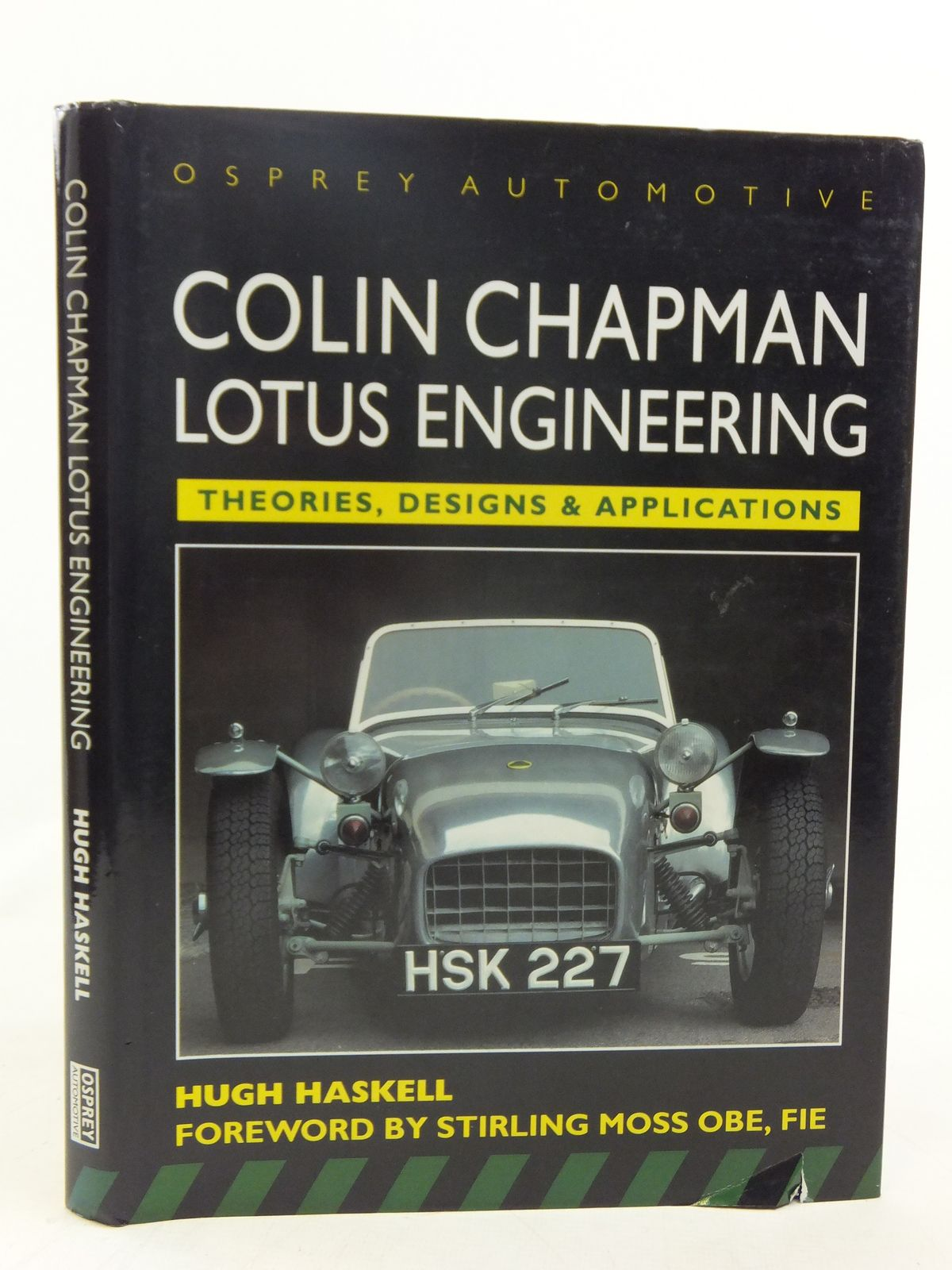 Photo of COLIN CHAPMAN LOTUS ENGINEERING written by Haskell, Hugh published by Osprey Automotive (STOCK CODE: 2116434)  for sale by Stella & Rose's Books