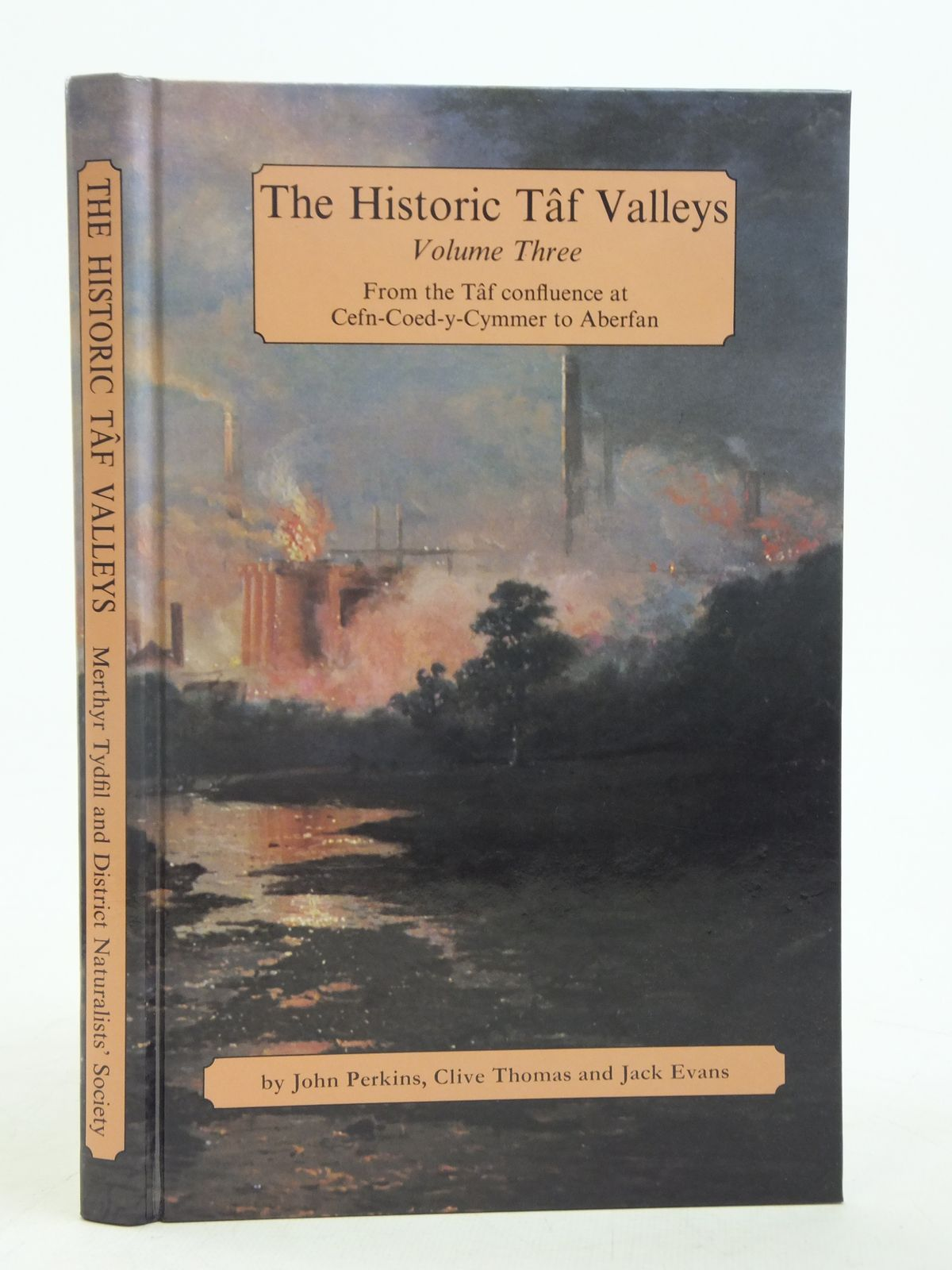 Photo of THE HISTORIC TAF VALLEYS VOLUME THREE written by Perkins, John<br />Thomas, Clive<br />Evans, Jack published by Merthyr Tydfil and District Naturalists' Society (STOCK CODE: 2116445)  for sale by Stella & Rose's Books