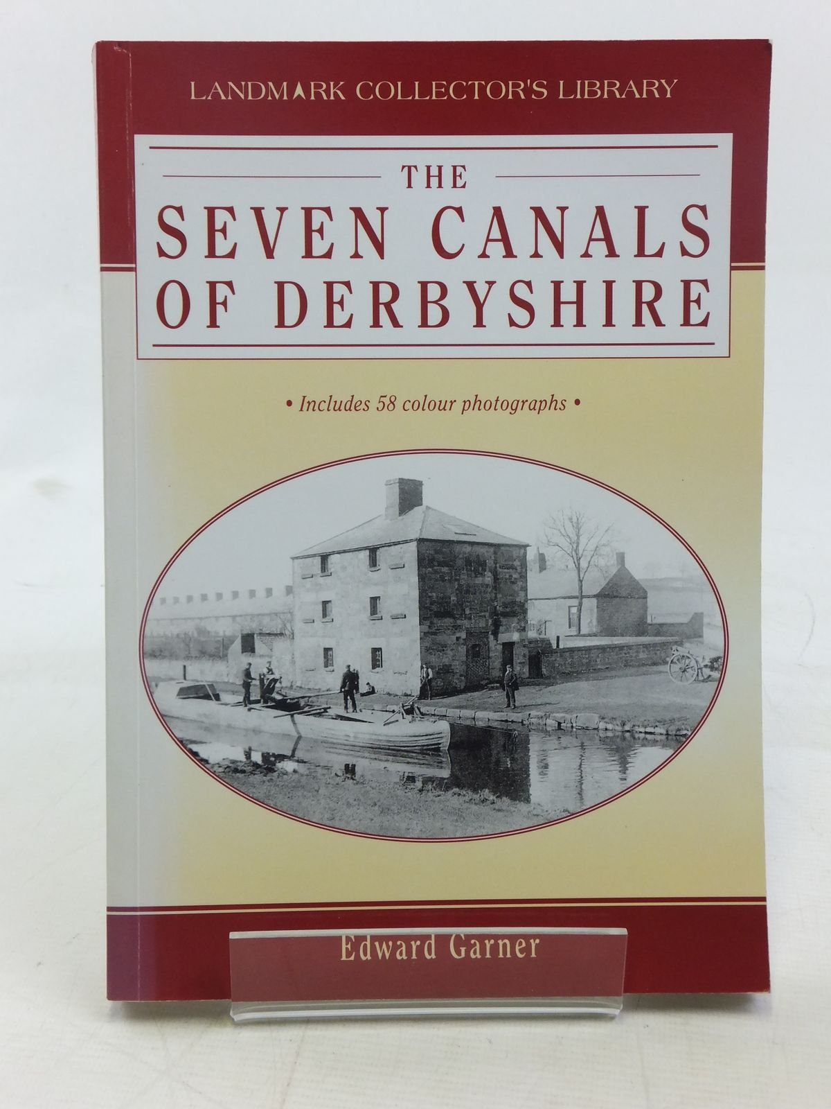Photo of THE SEVEN CANALS OF DERBYSHIRE written by Garner, Edward published by Landmark Publishing (STOCK CODE: 2116485)  for sale by Stella & Rose's Books