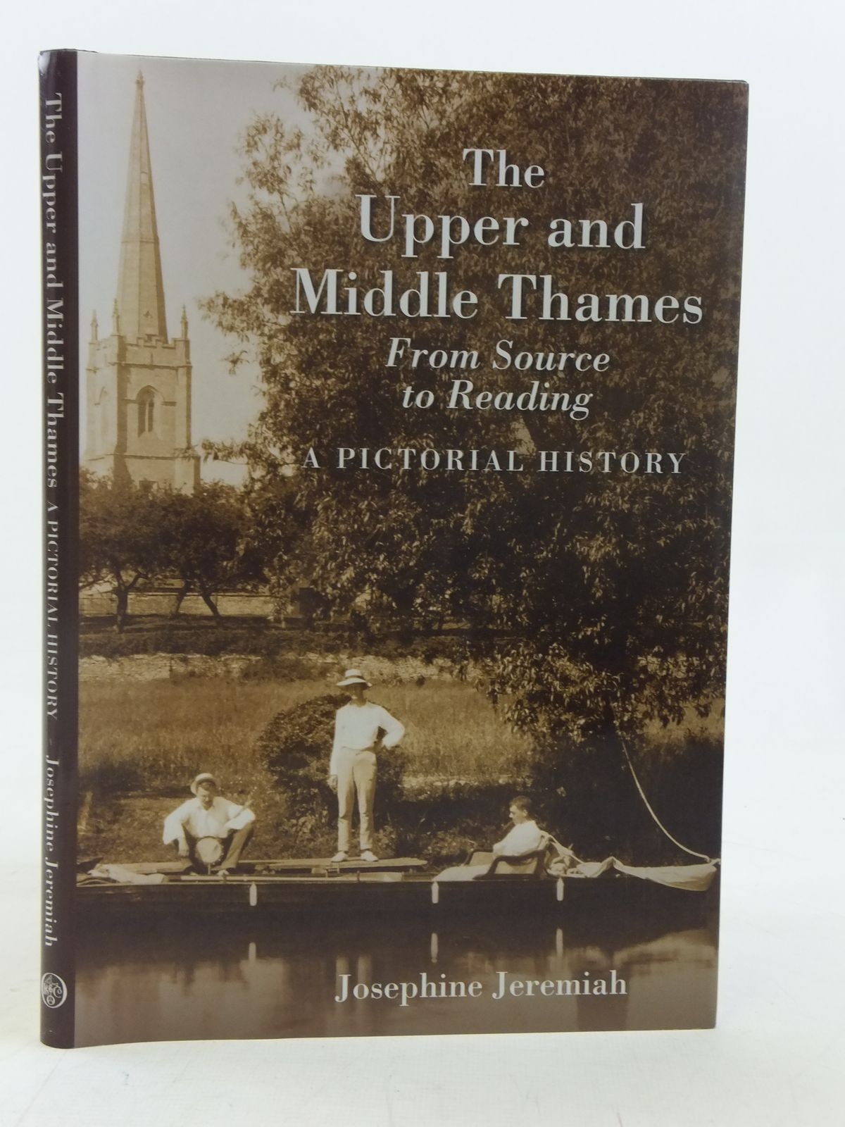 Photo of THE UPPER AND MIDDLE THAMES FROM SOURCE TO READING written by Jeremiah, Josephine published by Phillimore (STOCK CODE: 2116495)  for sale by Stella & Rose's Books