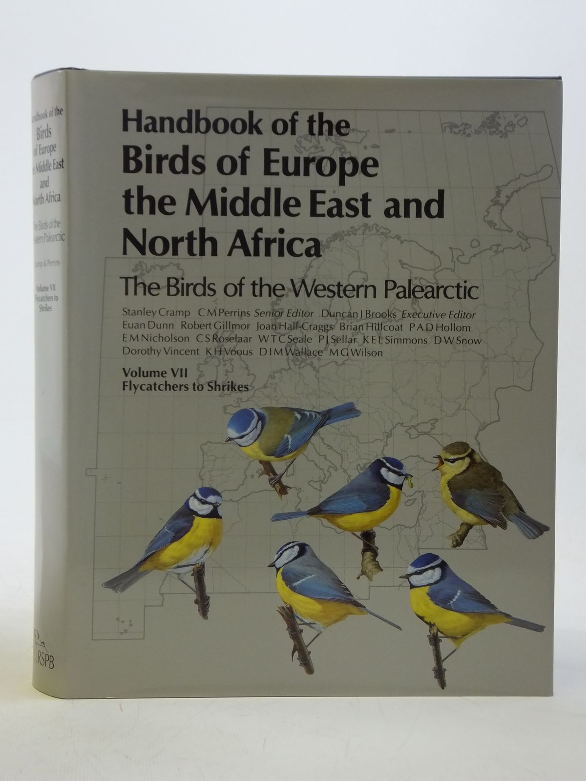 Photo of HANDBOOK OF THE BIRDS OF EUROPE THE MIDDLE EAST AND NORTH AFRICA 9 VOLUMES written by Cramp, Stanley illustrated by Barruel, Paul<br />Gillmor, Robert<br />Hayman, Peter<br />Scott, Peter<br />et al.,  published by Oxford University Press (STOCK CODE: 2116532)  for sale by Stella & Rose's Books