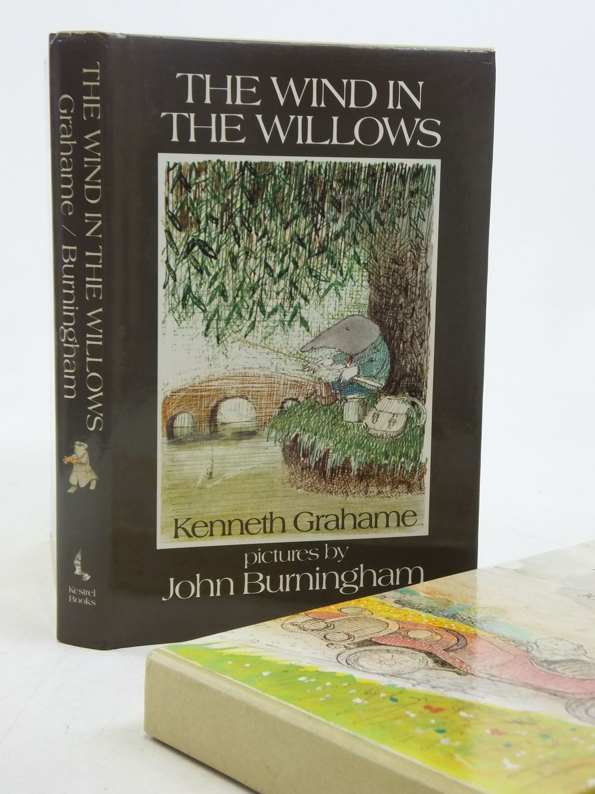 Photo of THE WIND IN THE WILLOWS written by Grahame, Kenneth illustrated by Burningham, John published by Kestrel Books (STOCK CODE: 2116575)  for sale by Stella & Rose's Books
