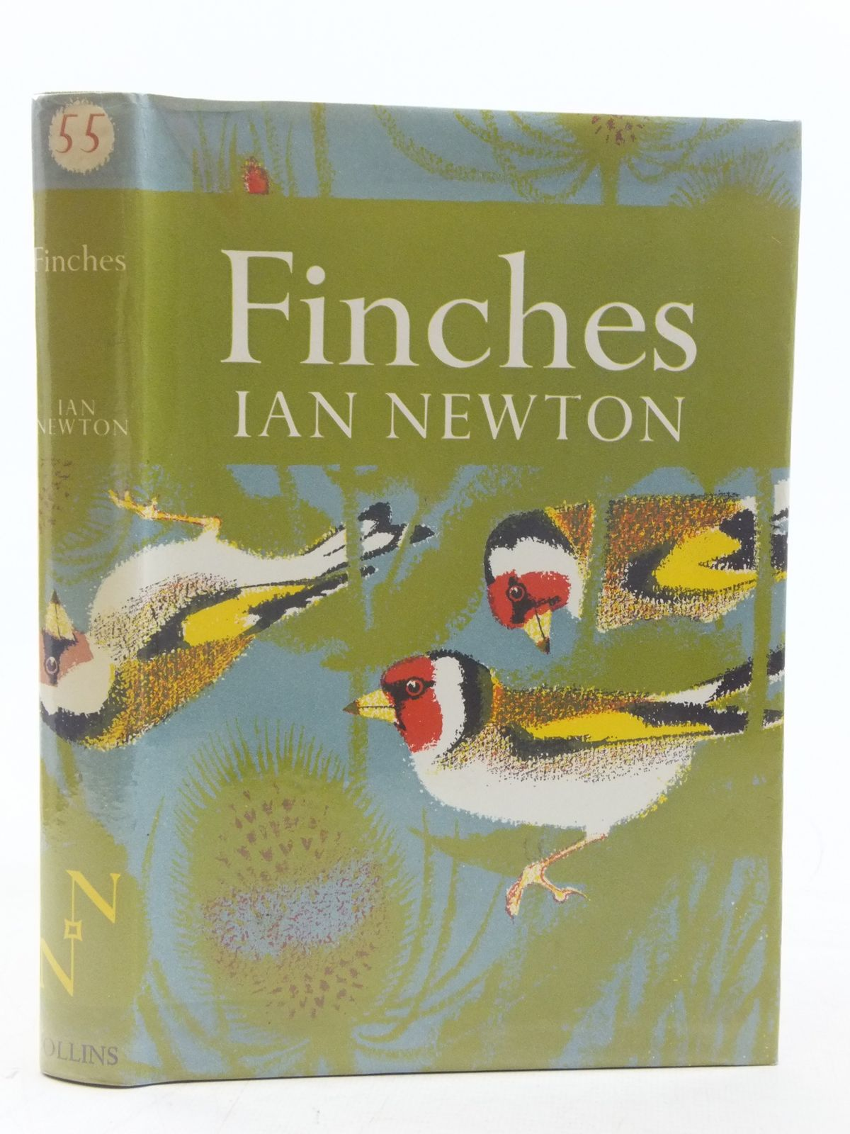 Photo of FINCHES (NN 55) written by Newton, Ian illustrated by Heinzel, Hermann published by Collins (STOCK CODE: 2116585)  for sale by Stella & Rose's Books