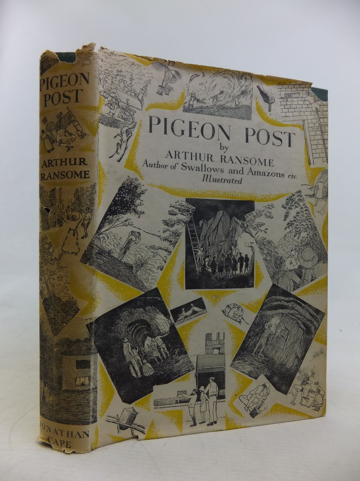 Photo of PIGEON POST written by Ransome, Arthur illustrated by Ransome, Arthur published by Jonathan Cape (STOCK CODE: 2116768)  for sale by Stella & Rose's Books
