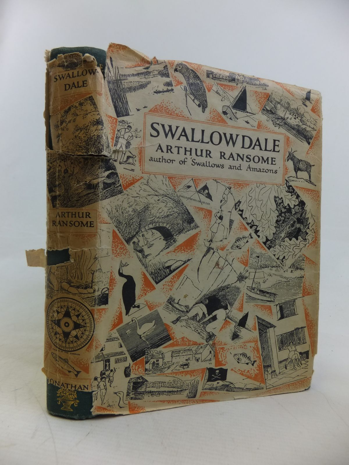 Photo of SWALLOWDALE written by Ransome, Arthur illustrated by Ransome, Arthur published by Jonathan Cape (STOCK CODE: 2116772)  for sale by Stella & Rose's Books