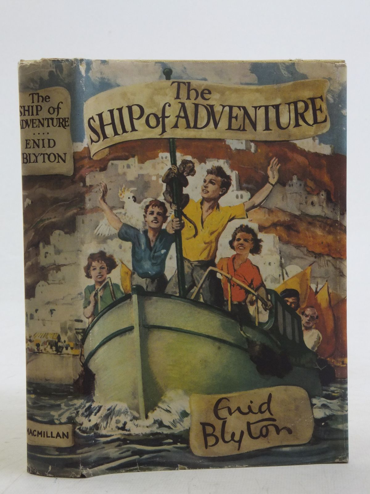 Photo of THE SHIP OF ADVENTURE written by Blyton, Enid illustrated by Tresilian, Stuart published by Macmillan & Co. Ltd. (STOCK CODE: 2116866)  for sale by Stella & Rose's Books