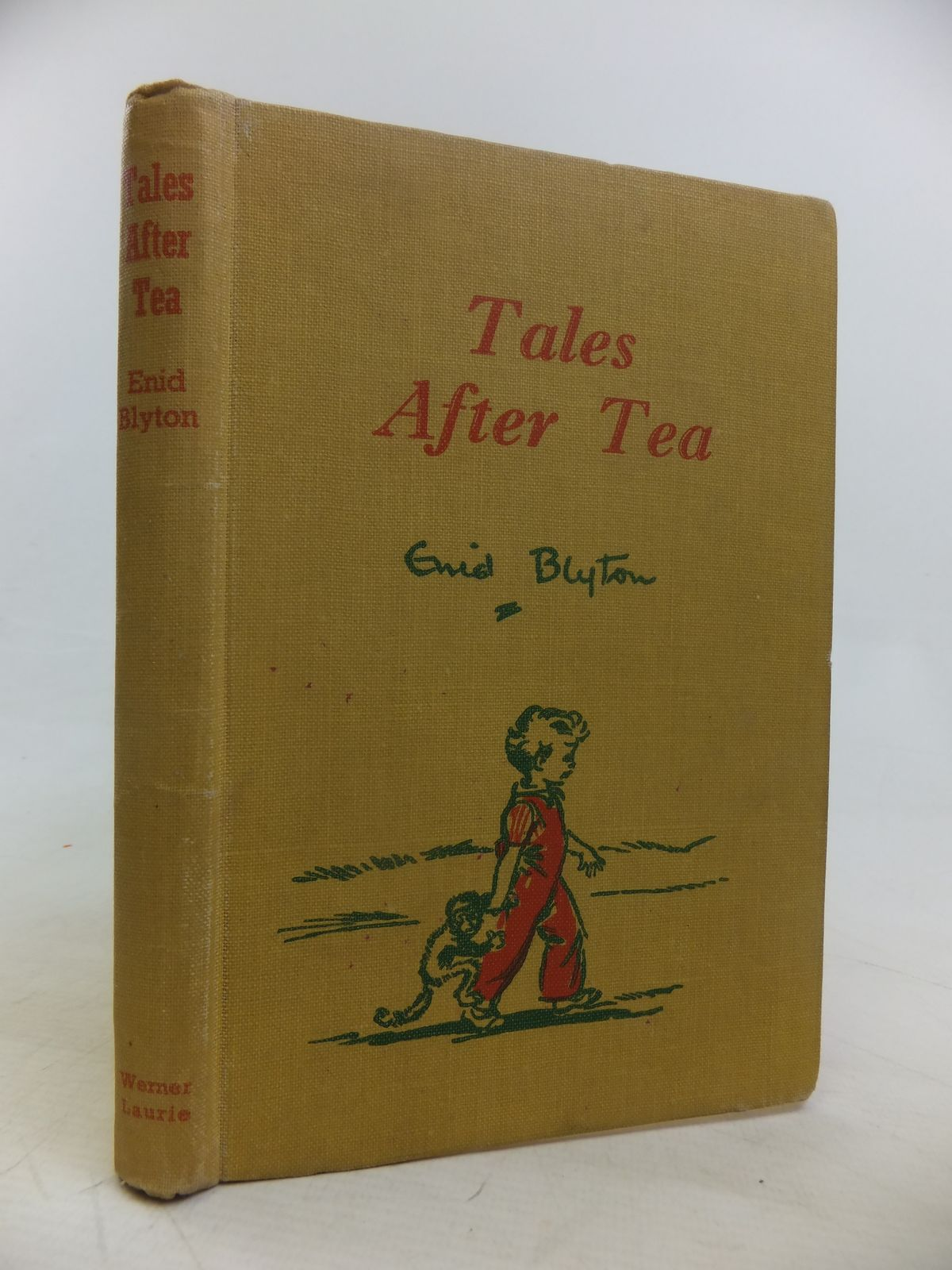 Photo of TALES AFTER TEA written by Blyton, Enid published by Werner Laurie (STOCK CODE: 2116875)  for sale by Stella & Rose's Books